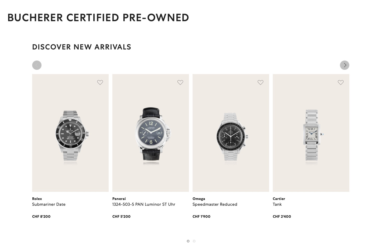 Certified Pre Owned >> Watch Retailer Bucherer Enters The Certified Pre Owned Market