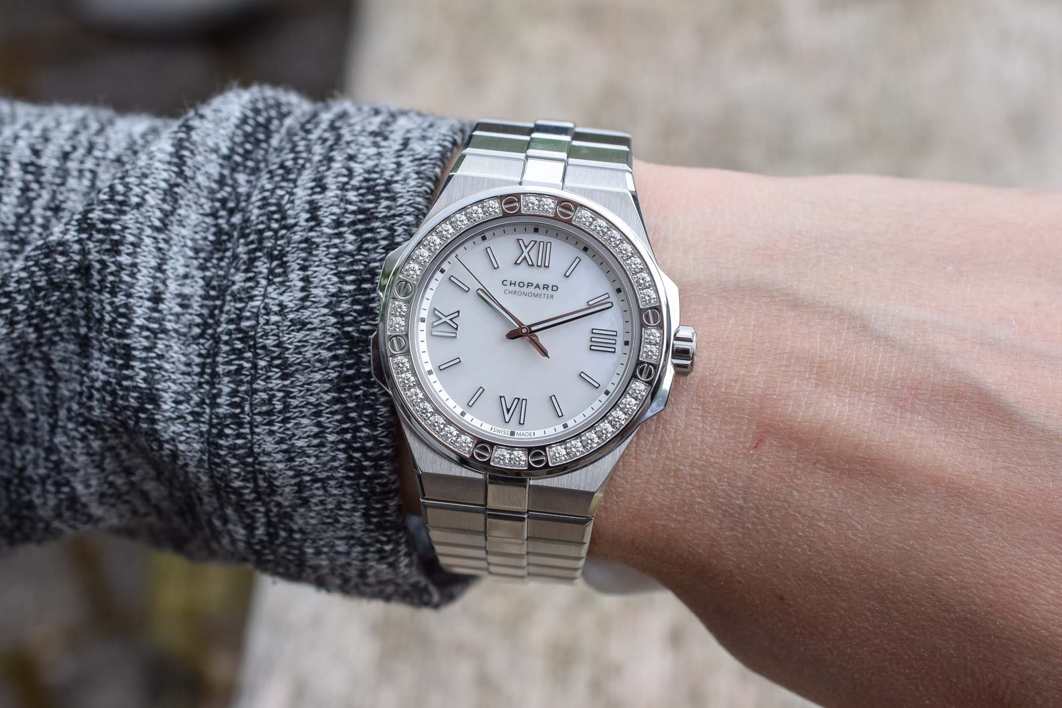 Chopard Alpine Eagle 36mm - Luxury Sports Watch Collection - Review - 1