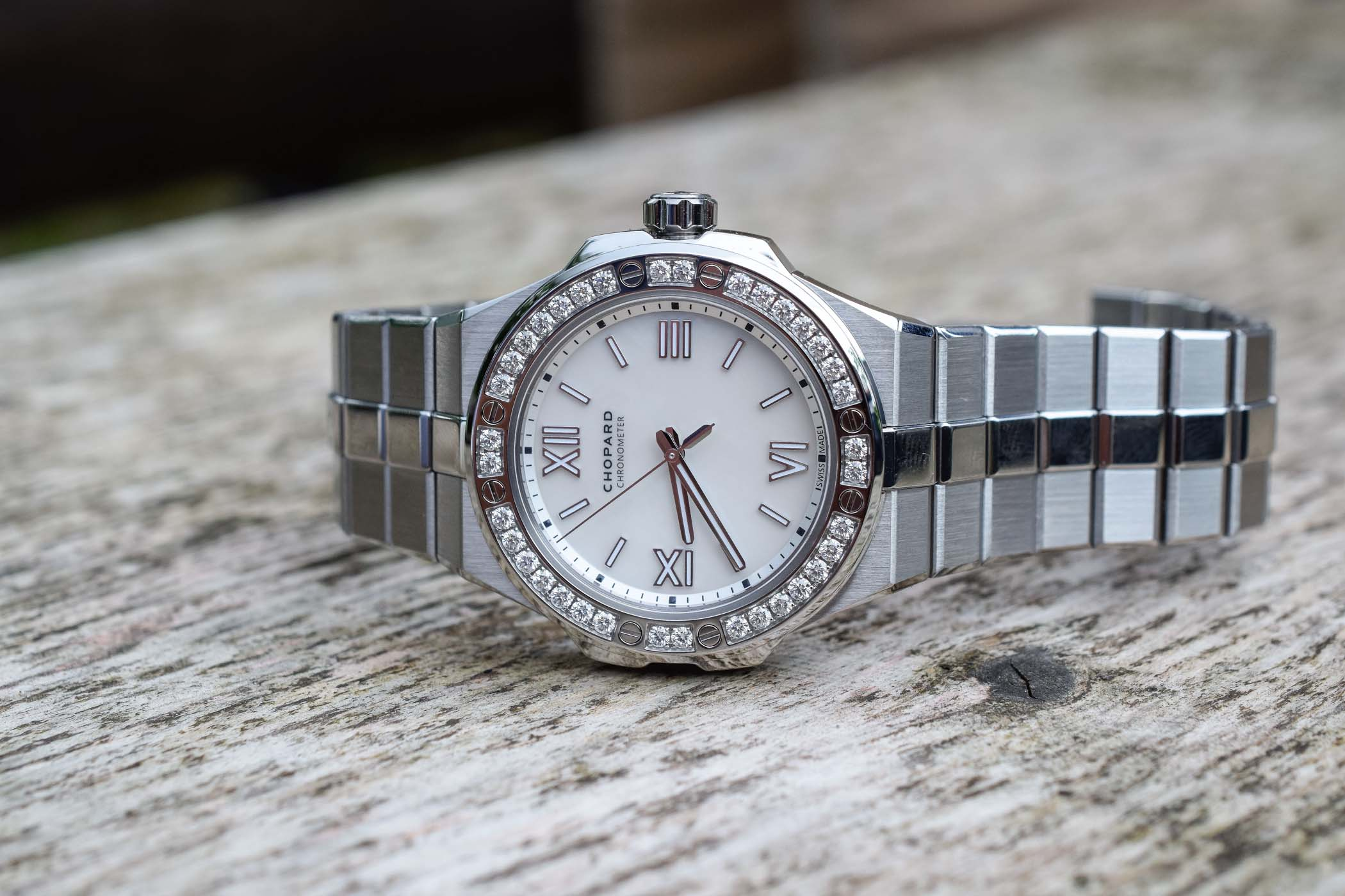 Chopard Alpine Eagle 36mm - Luxury Sports Watch Collection - Review - 2