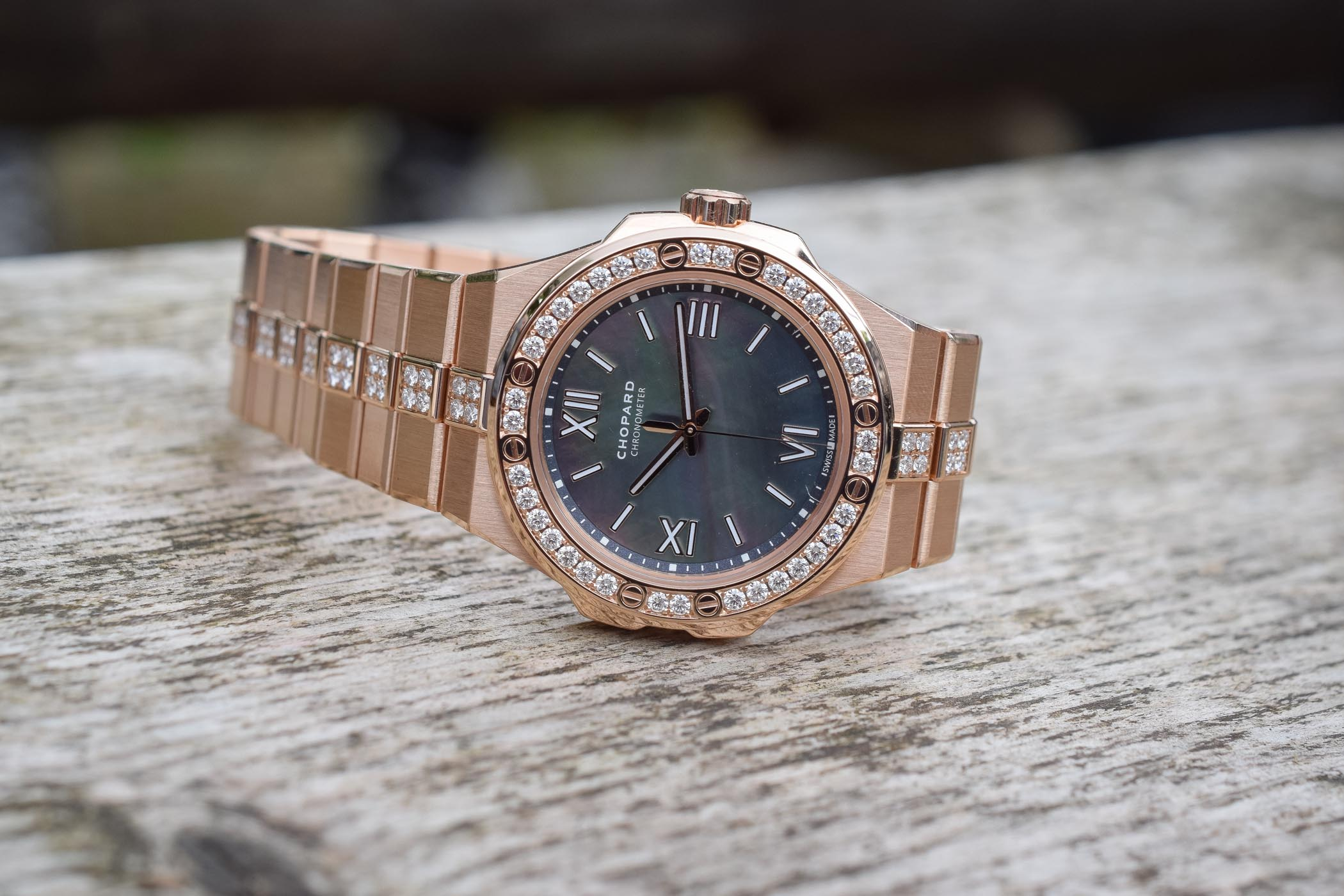 Chopard Alpine Eagle 36mm - Luxury Sports Watch Collection - Review - 3