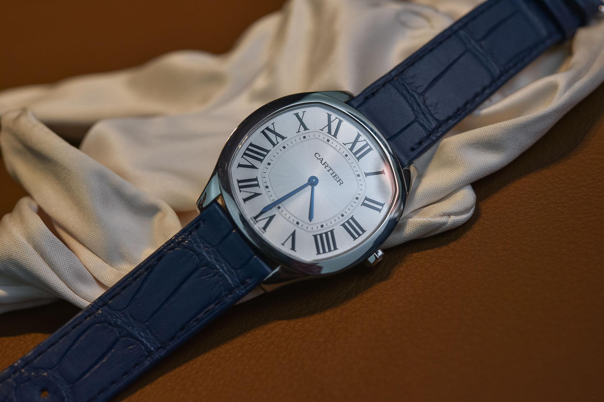 Drive de Cartier Extra-Flat Steel WSNM0011