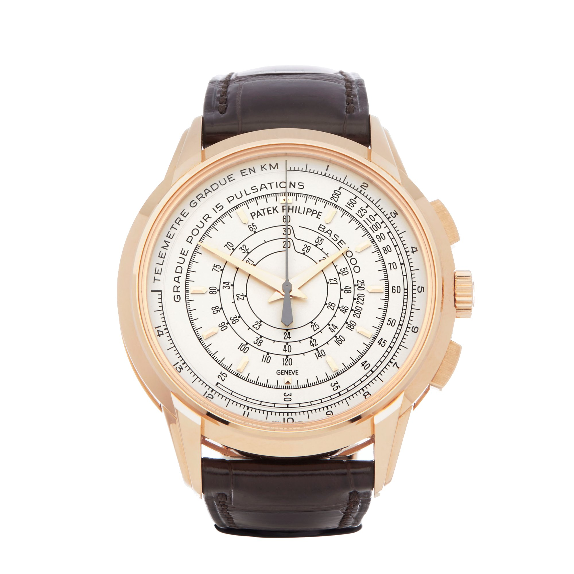 Eric Clapton Patek Philippe 5975R Chronograph 175th Anniversary For Sale