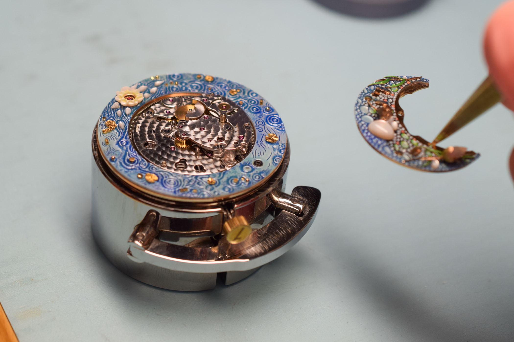 Jaquet Droz Magic Lotus Automaton