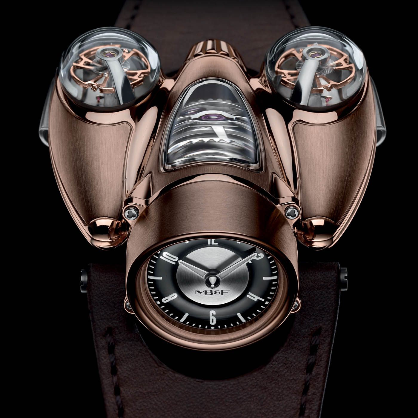 MB&F HM9 Flow Air and Road Editions Red Gold
