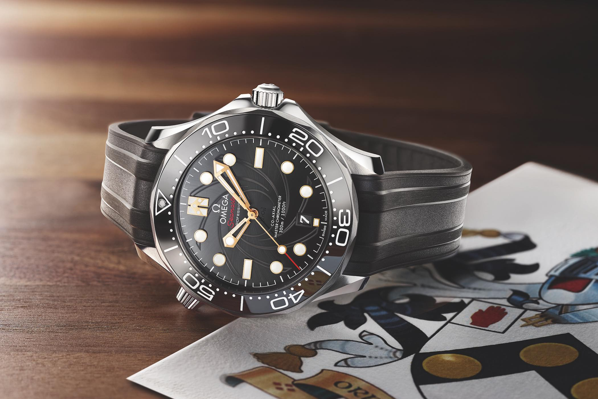 Omega Seamaster Diver 300M On Her Majesty's Secret Service 50th Anniversary - 210.22.42.20.01.004