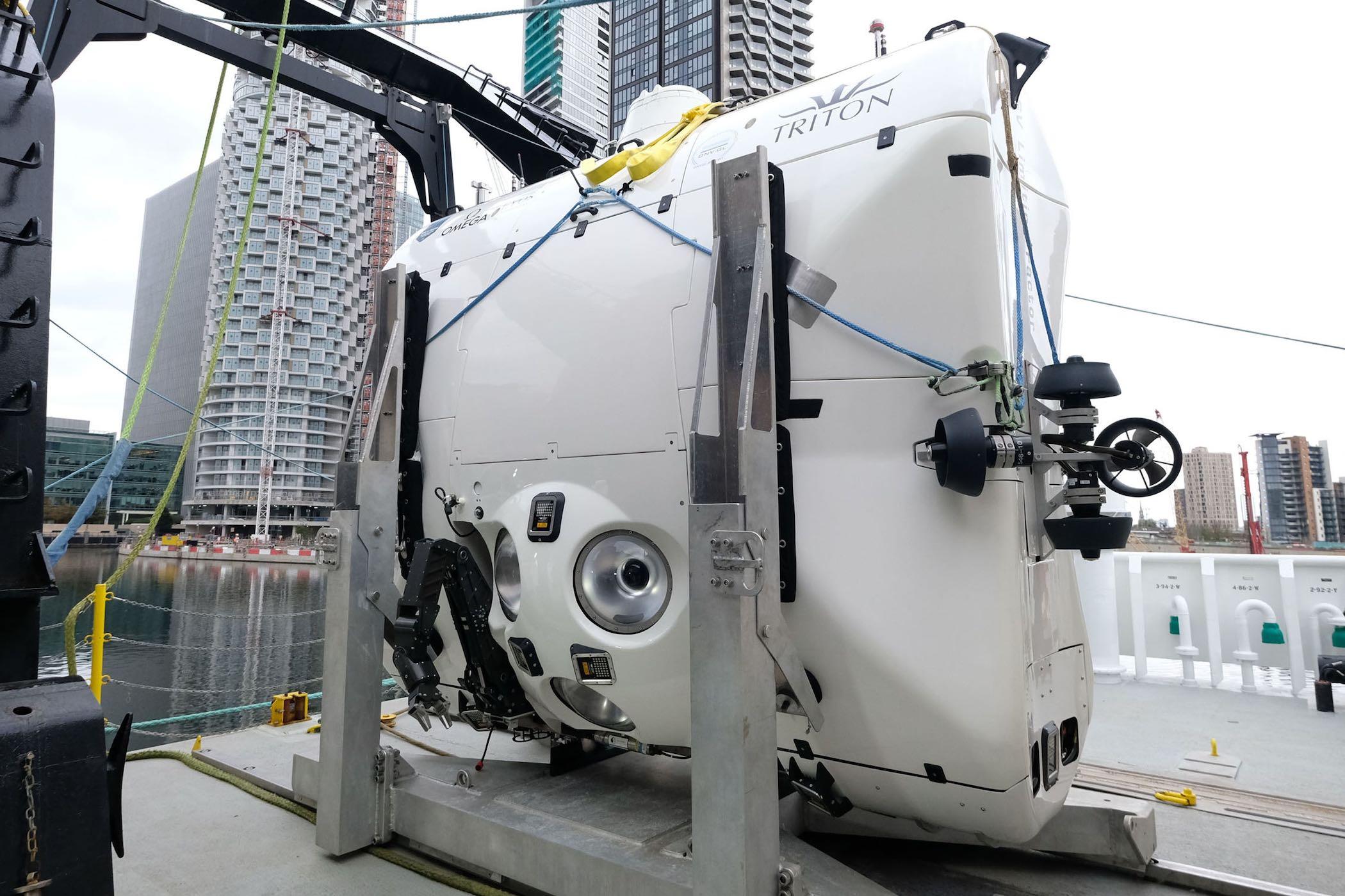 Omega Seamaster Ultra Deep - Five Deeps expedition