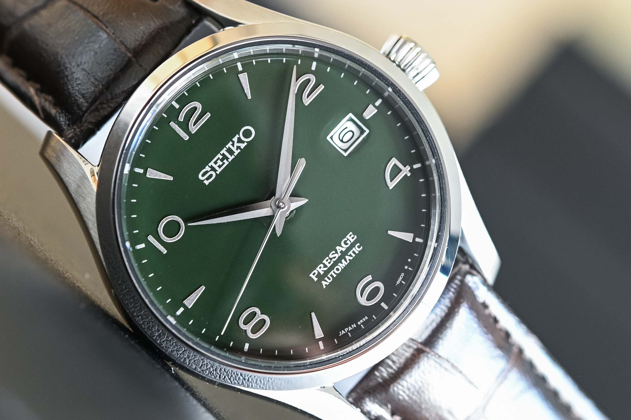 Seiko Presage Green Enamel Dial SPB111J1
