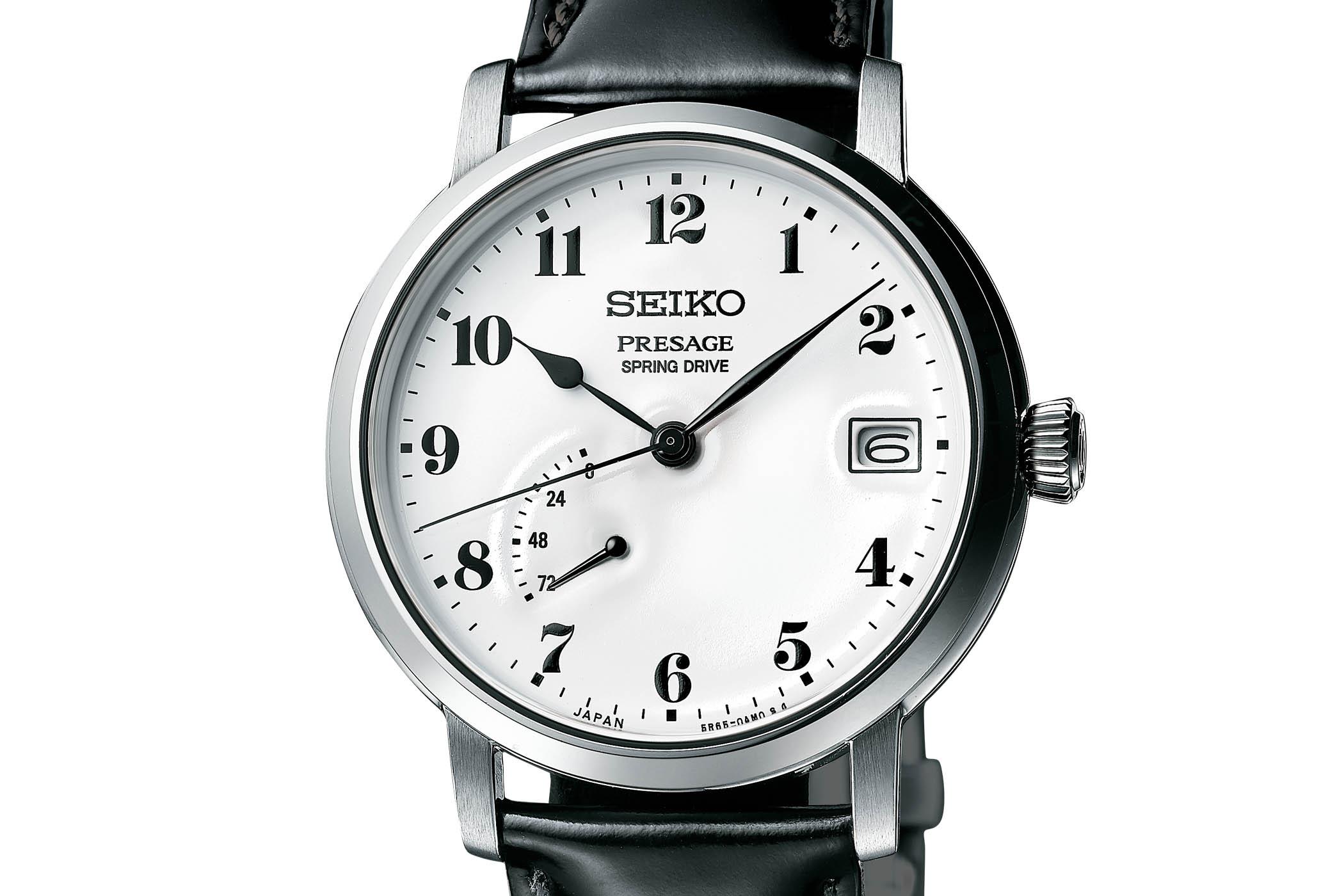 Seiko Presage Prestige Line Enamel Dial Spring Drive SNR037 - SNR039