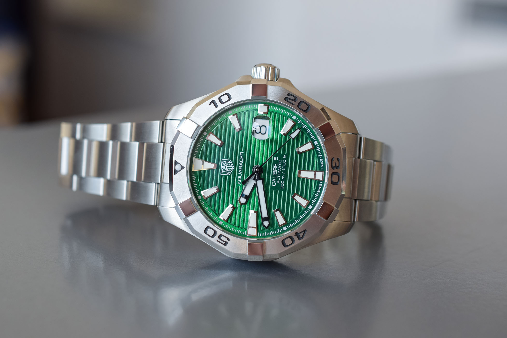 TAG Heuer Aquaracer Green Dial WAY2015-BA0927