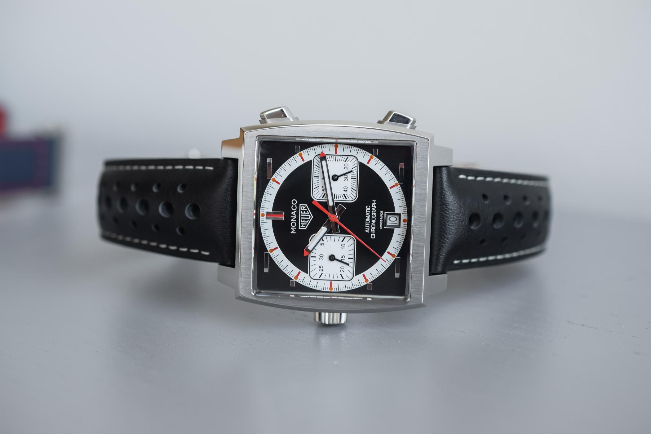 TAG Heuer Monaco 1999-2009 50th anniversary Limited Edition CAW211Y.FC6469