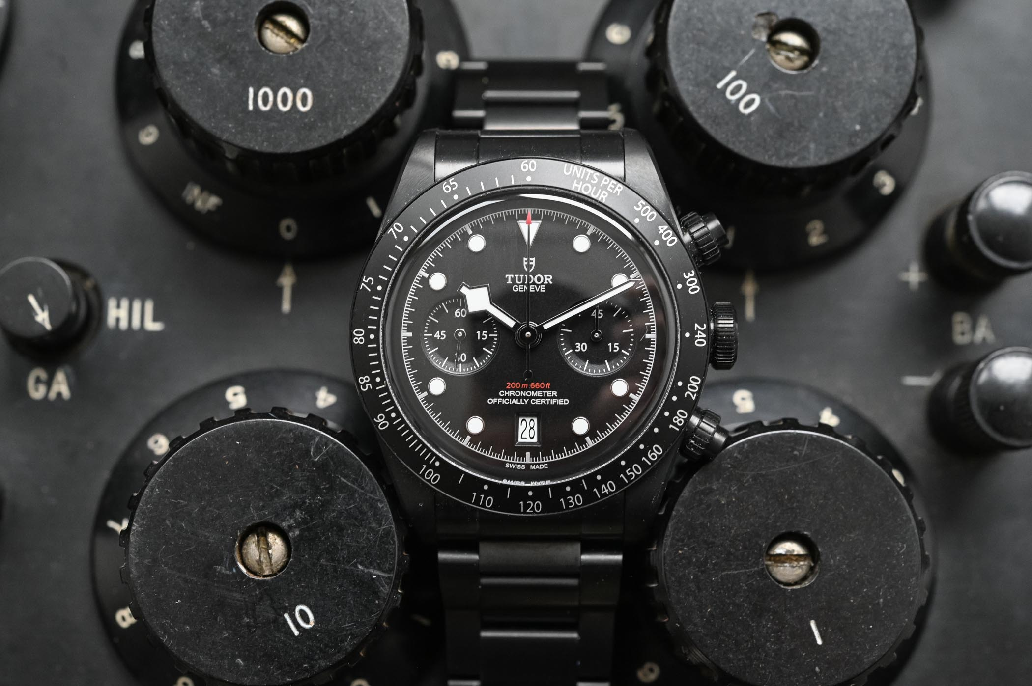 Tudor Black Bay Chrono Dark 79360DK