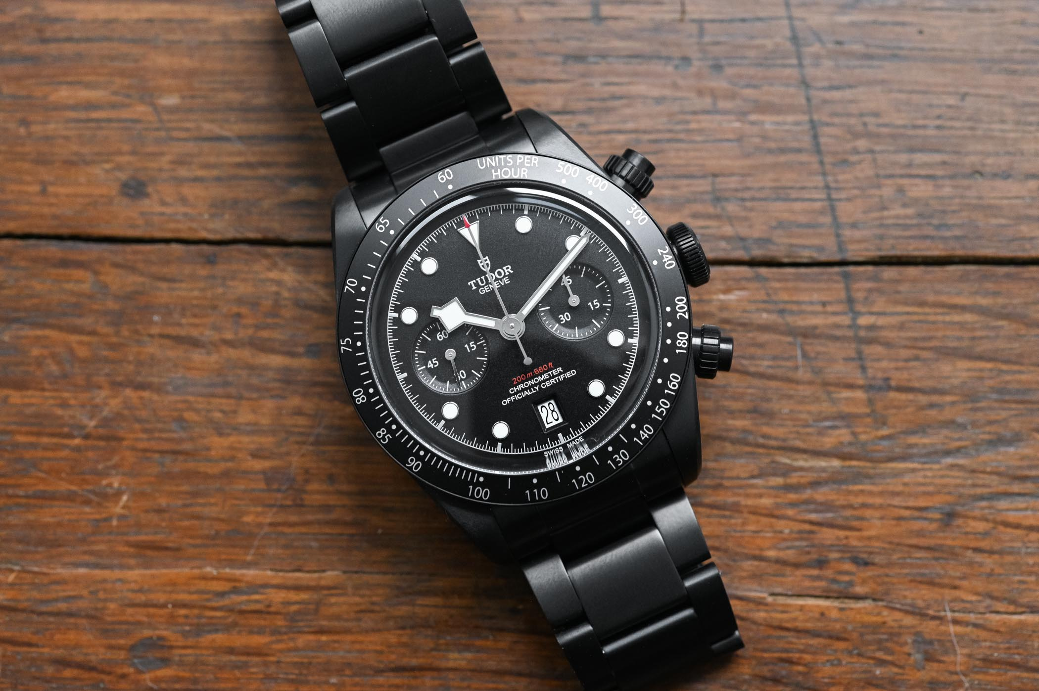Tudor Black Bay Chrono Dark 79360DK Limited Edition