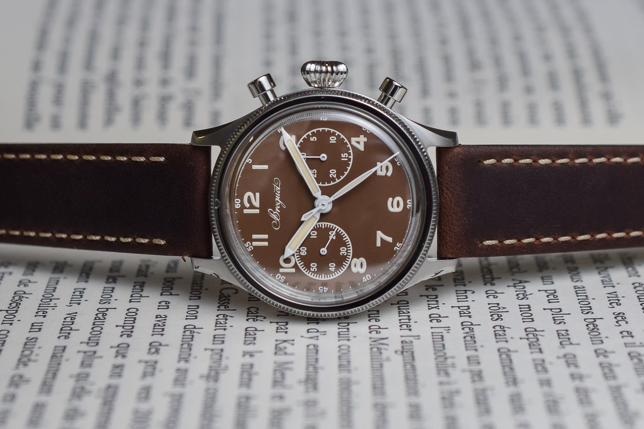 Unique Breguet Type 20 Revival 2055ST for Only Watch 2019