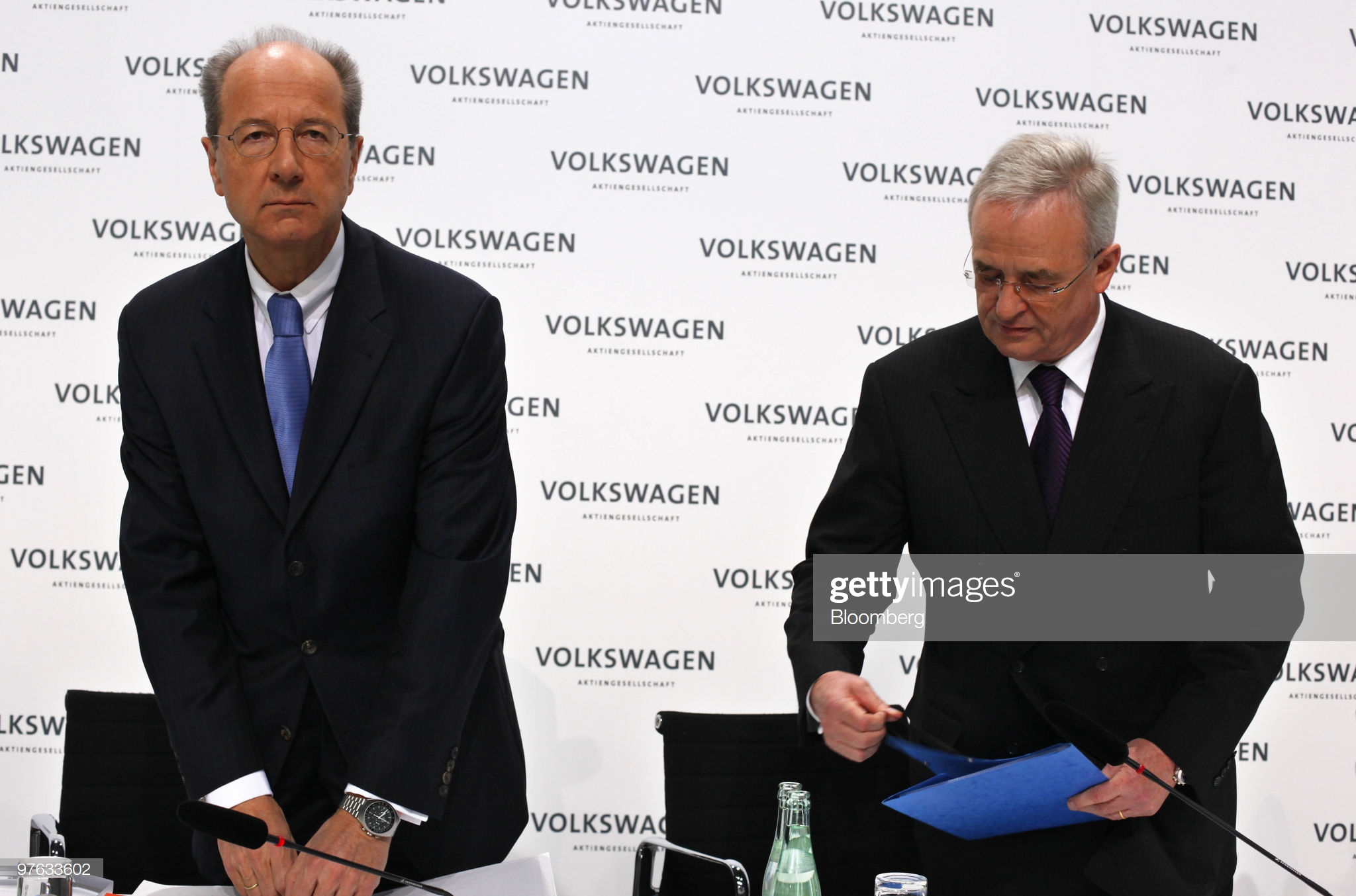 Spotted - Hans Dieter Pötsch, Chairman of Porsche SE, With Omega Speedmaster Mark II