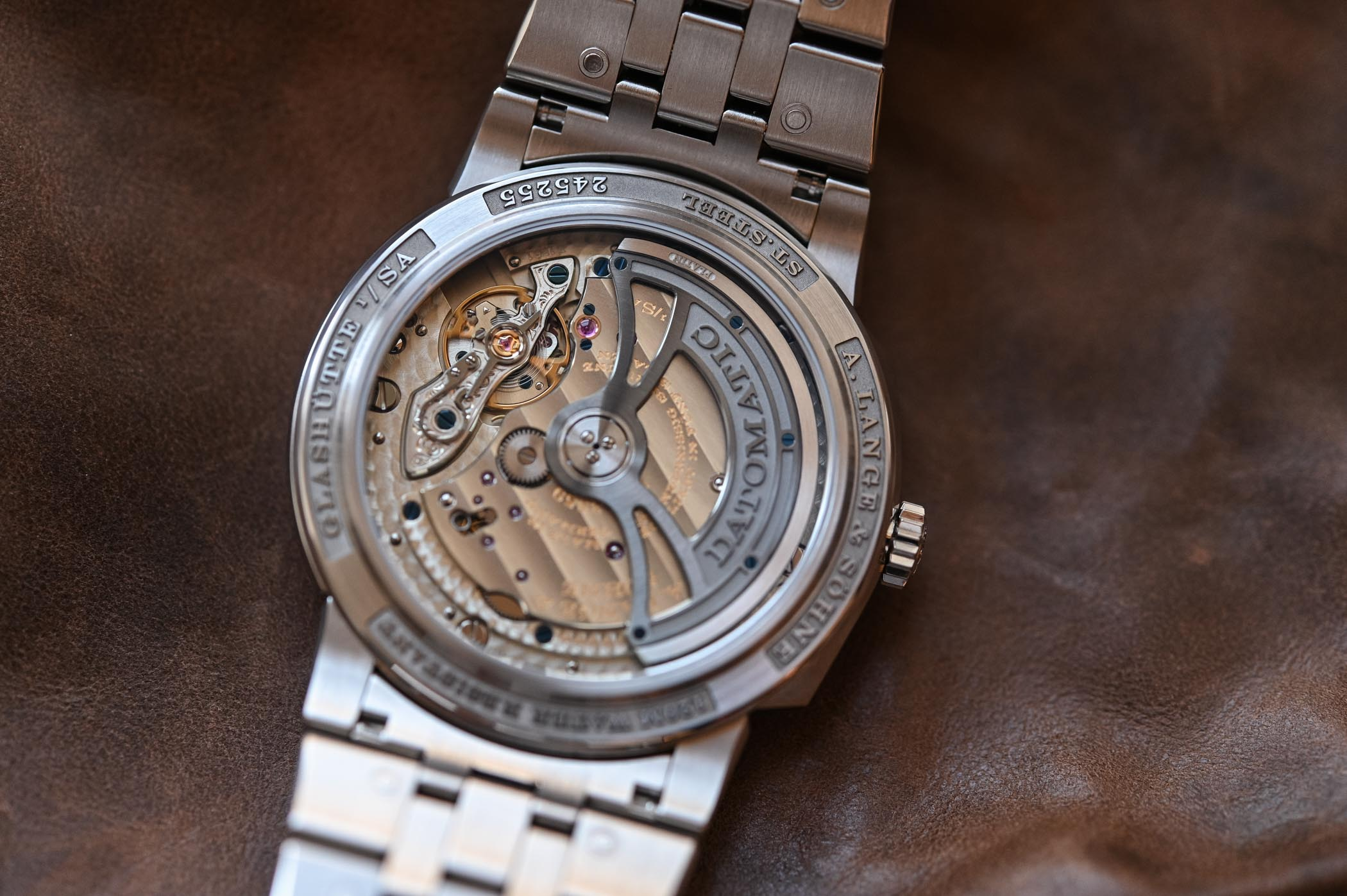 A. Lange & Söhne Odysseus Steel Sports Watch