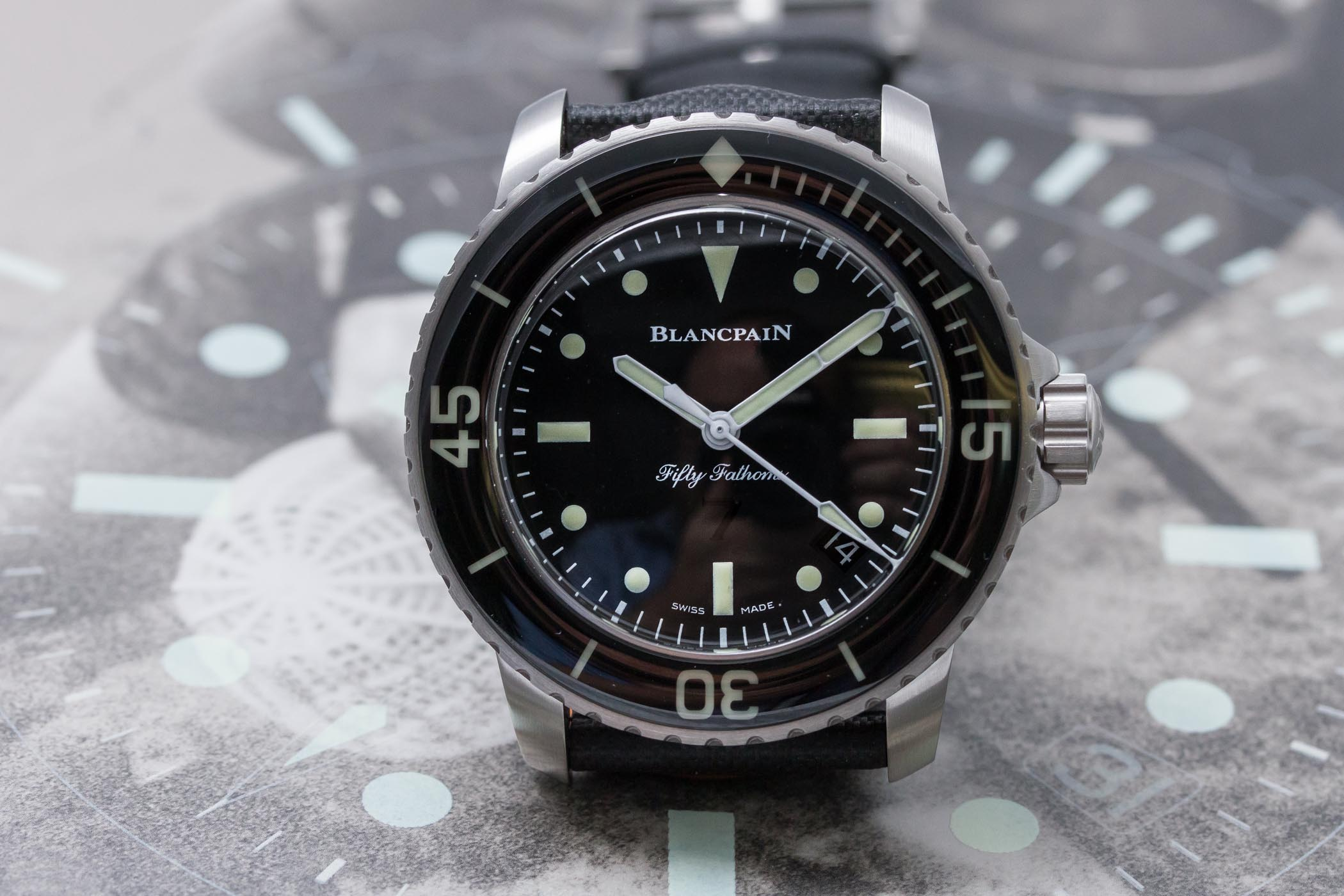 Blancpain Fifty Fathoms Nageurs de Combat Limited Edition - 5015E