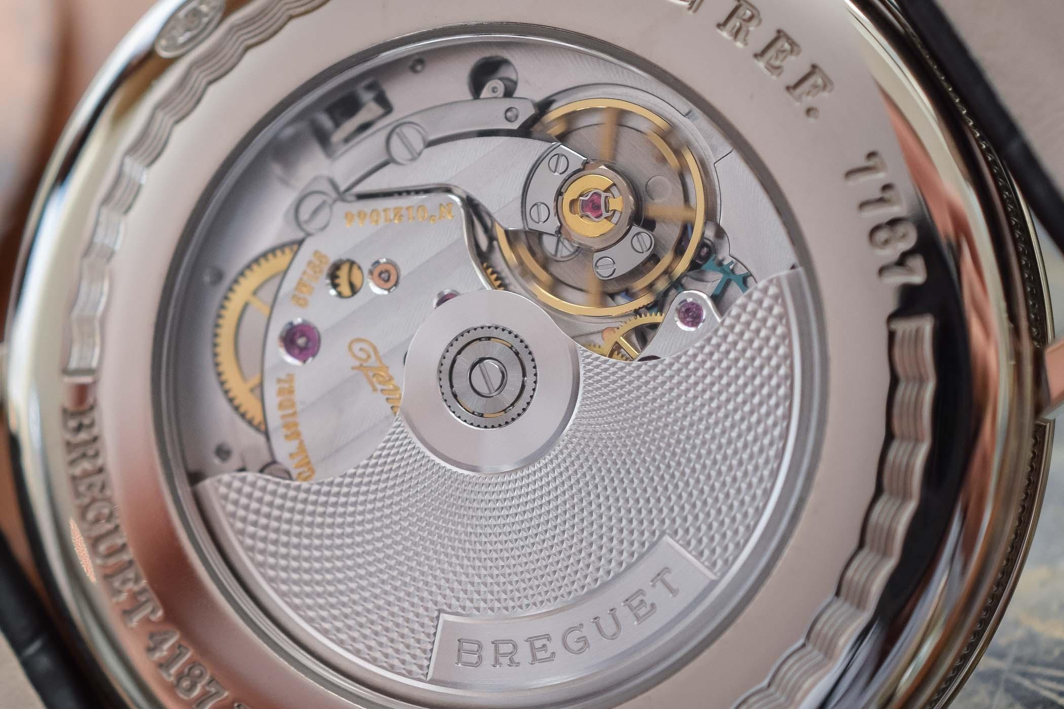 Breguet Classique 7787 MoonPhase Grand Feu Enamel Dial - 7787BB:29:9V6 - review - 2