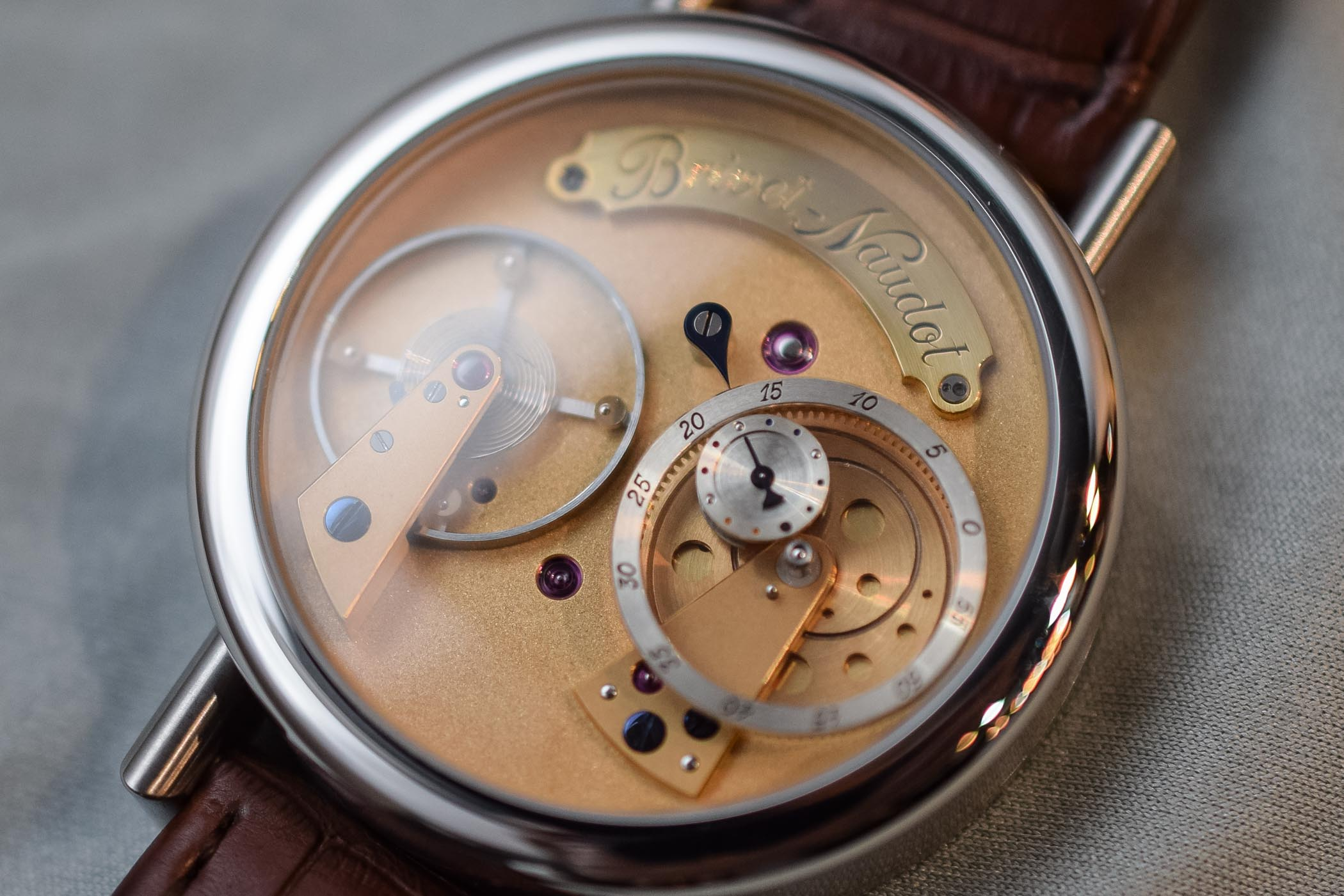 Cyril Brivet-Naudot Eccentricity Watch - Independent Watchmaking