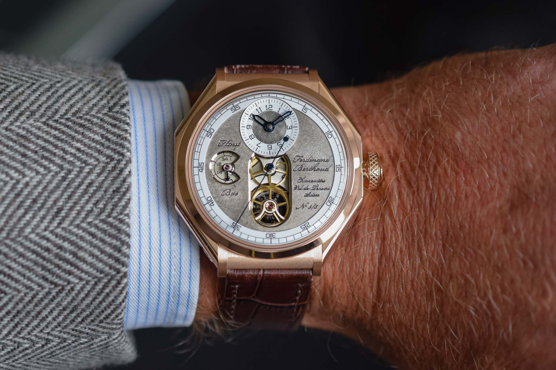erdinand Berthoud Chronometre FB1 Oeuvre d'Or Rose Gold SIAR 2019