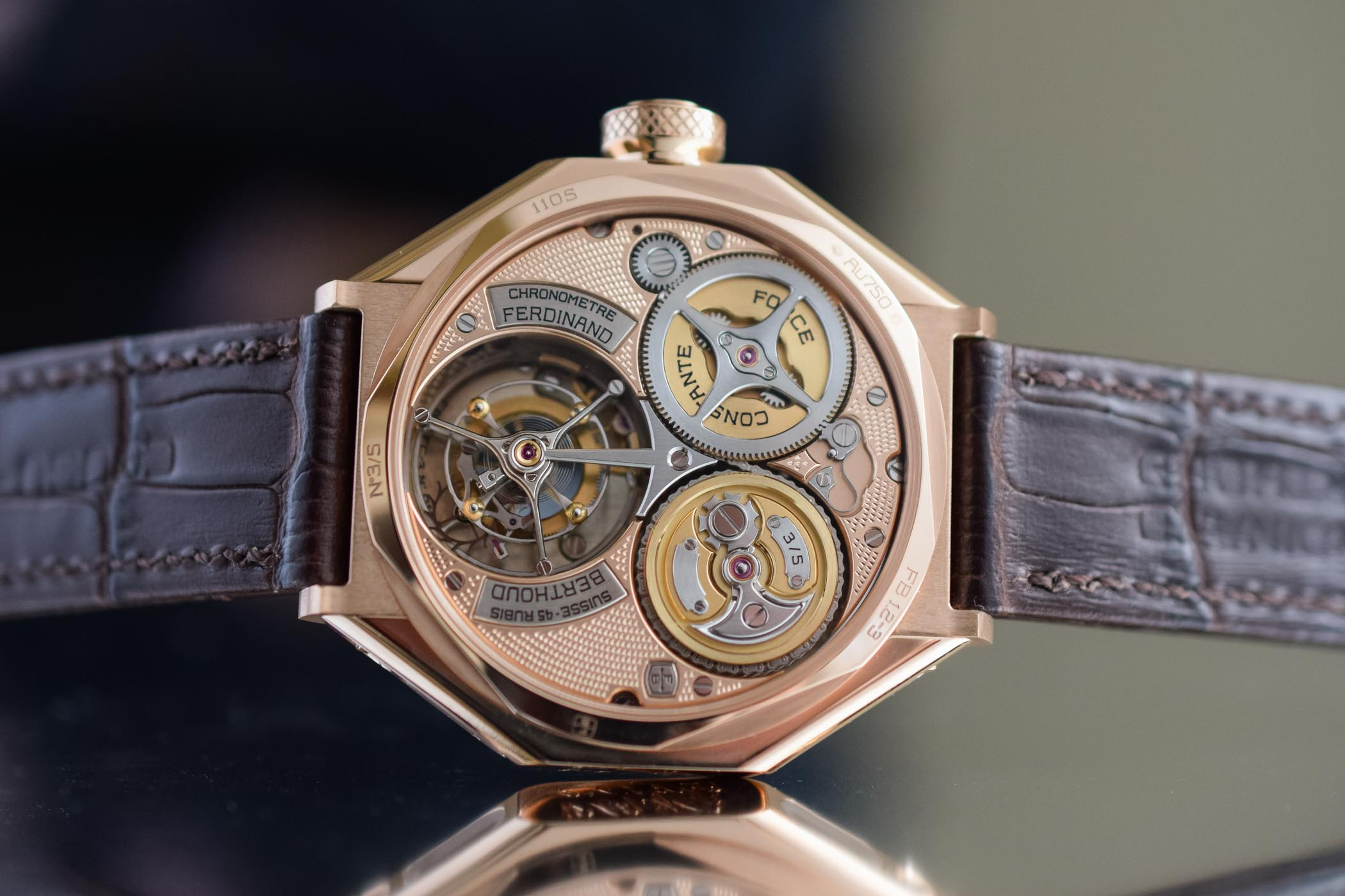 erdinand Berthoud Chronometre FB1 Oeuvre d'Or Rose Gold SIAR 2019