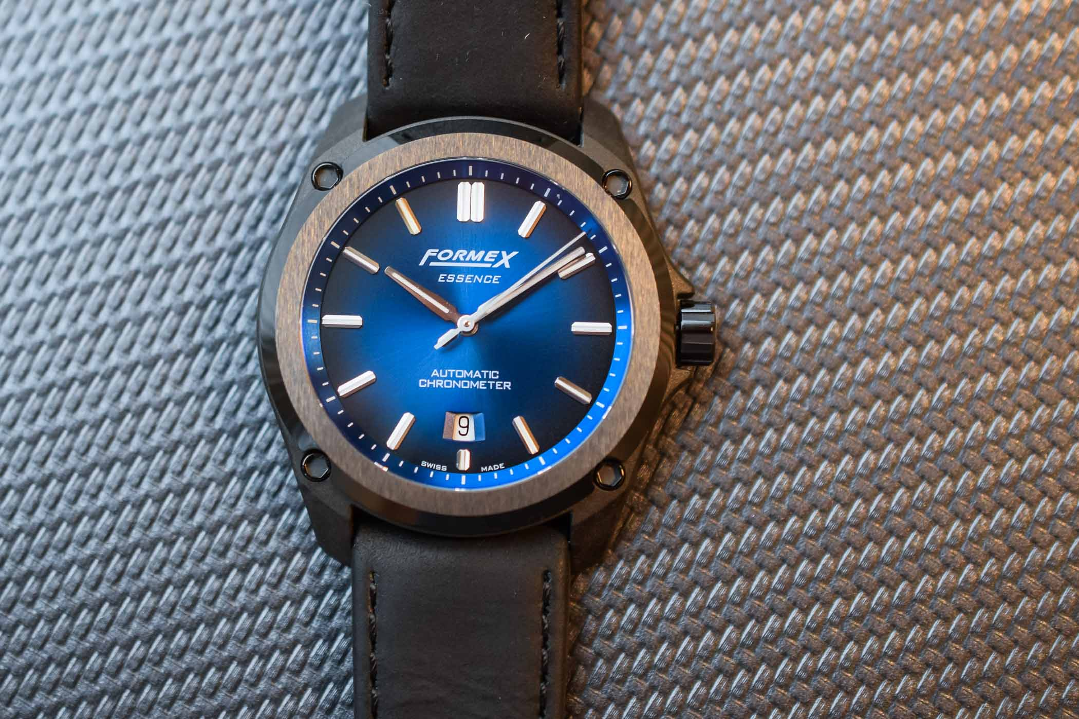 Formex Essence Leggera - Chronometer Certified Carbon Watch Value Proposition
