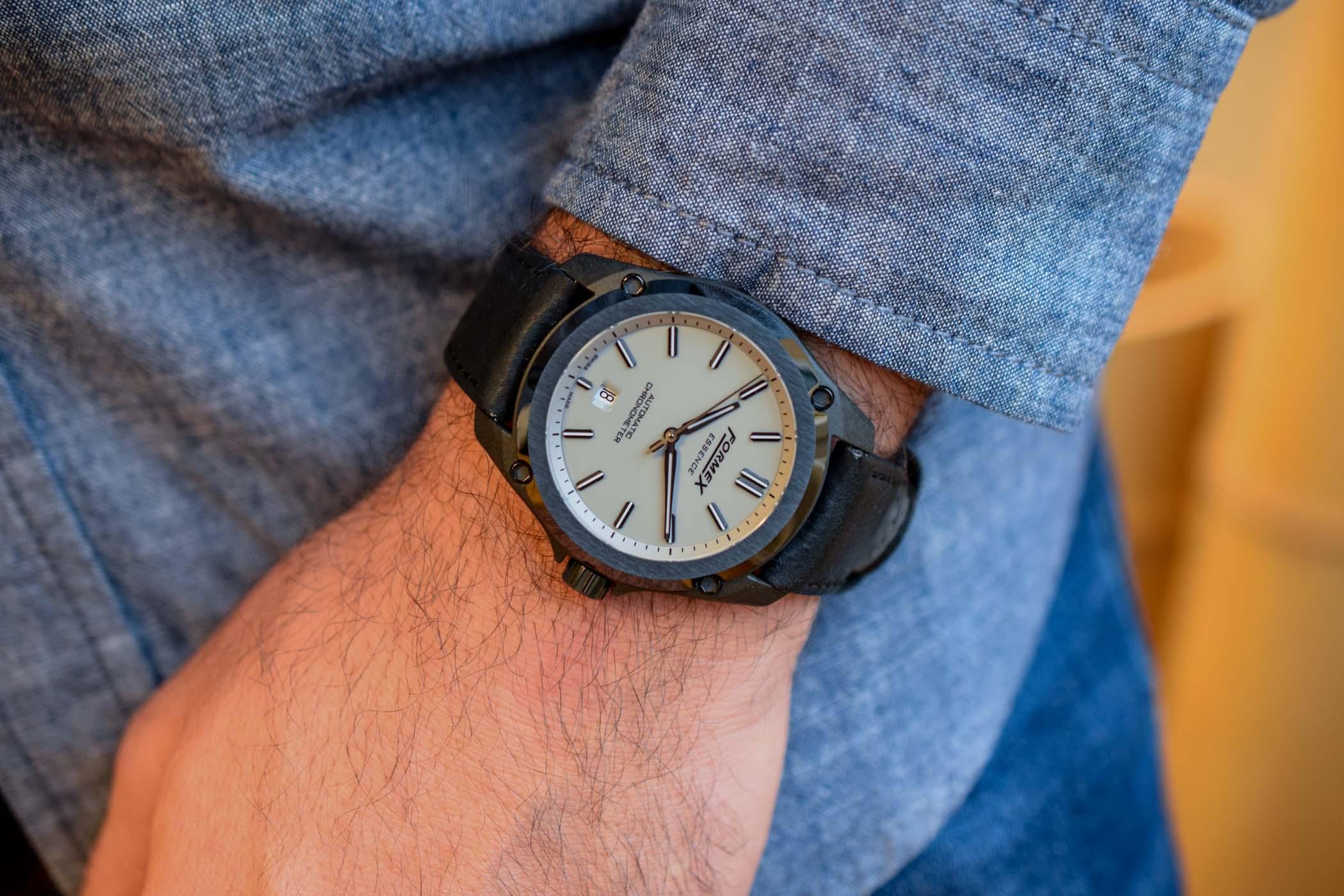 Formex Essence Leggera - Chronometer Certified Carbon Watch Value Proposition
