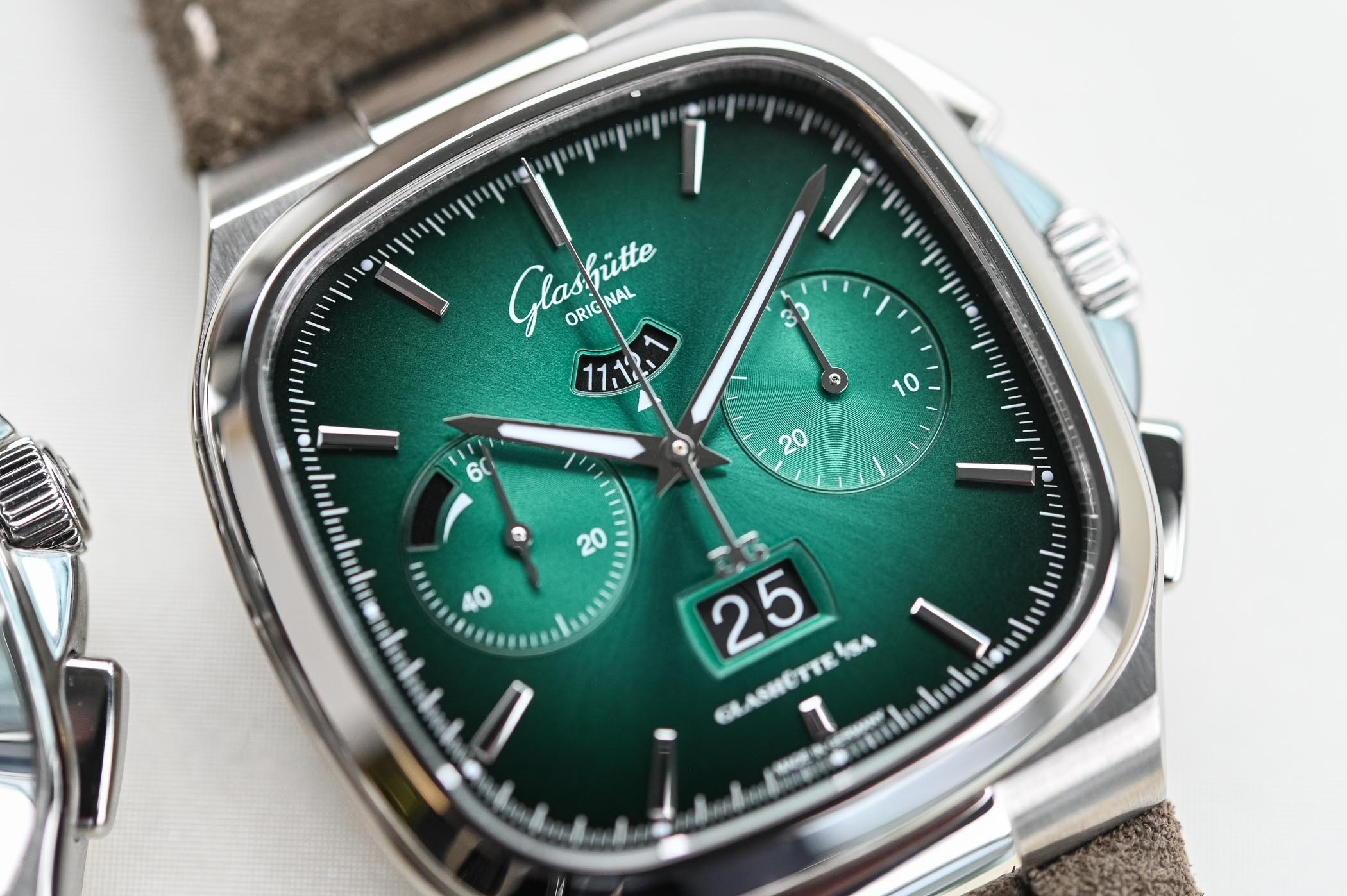Glashutte Original Seventies Chronograph Limited Editions Gradient Dials