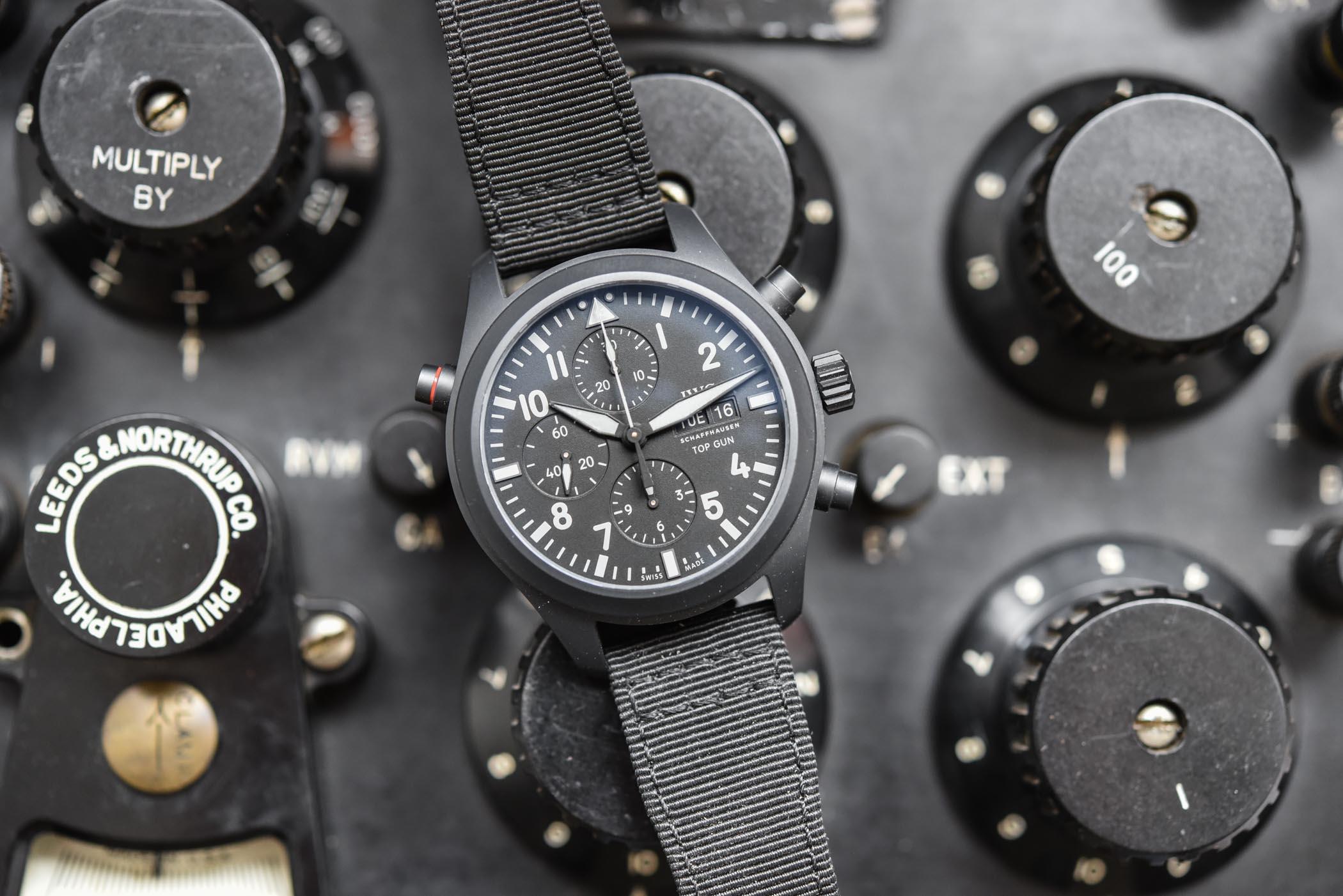 IWC Pilot's Watch Double Chronograph TOP GUN Ceratanium IW371815
