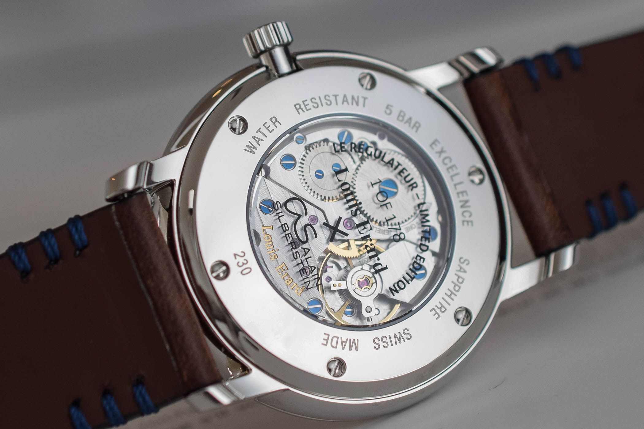 Louis Erard x Alain Silberstein Excellence Regulateur Limited Edition