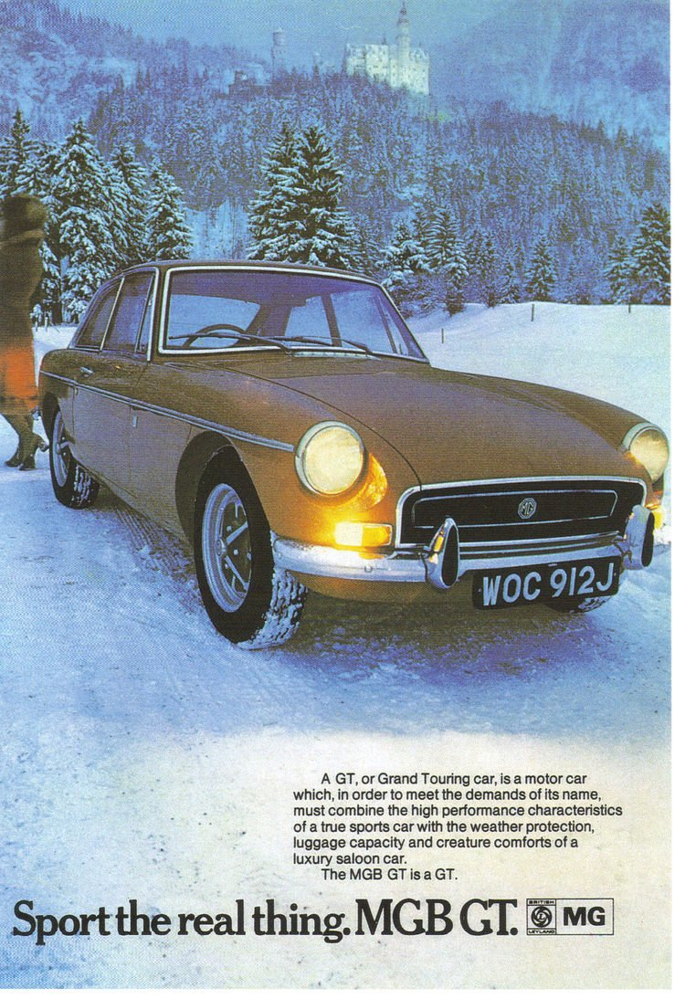 MGB vintage advert - 4