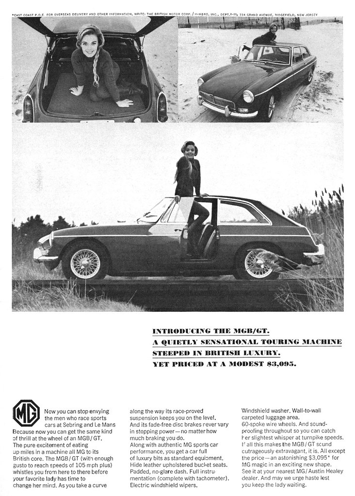 MGB vintage advert - 7