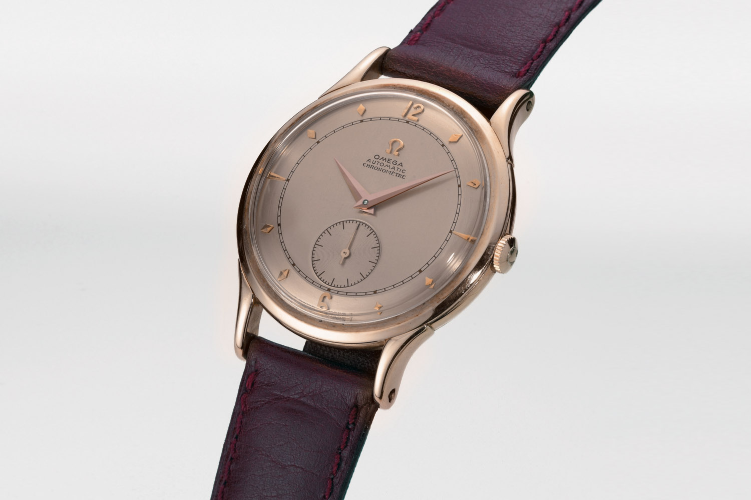 Omega 1948 Centenary chronometer-certified watch
