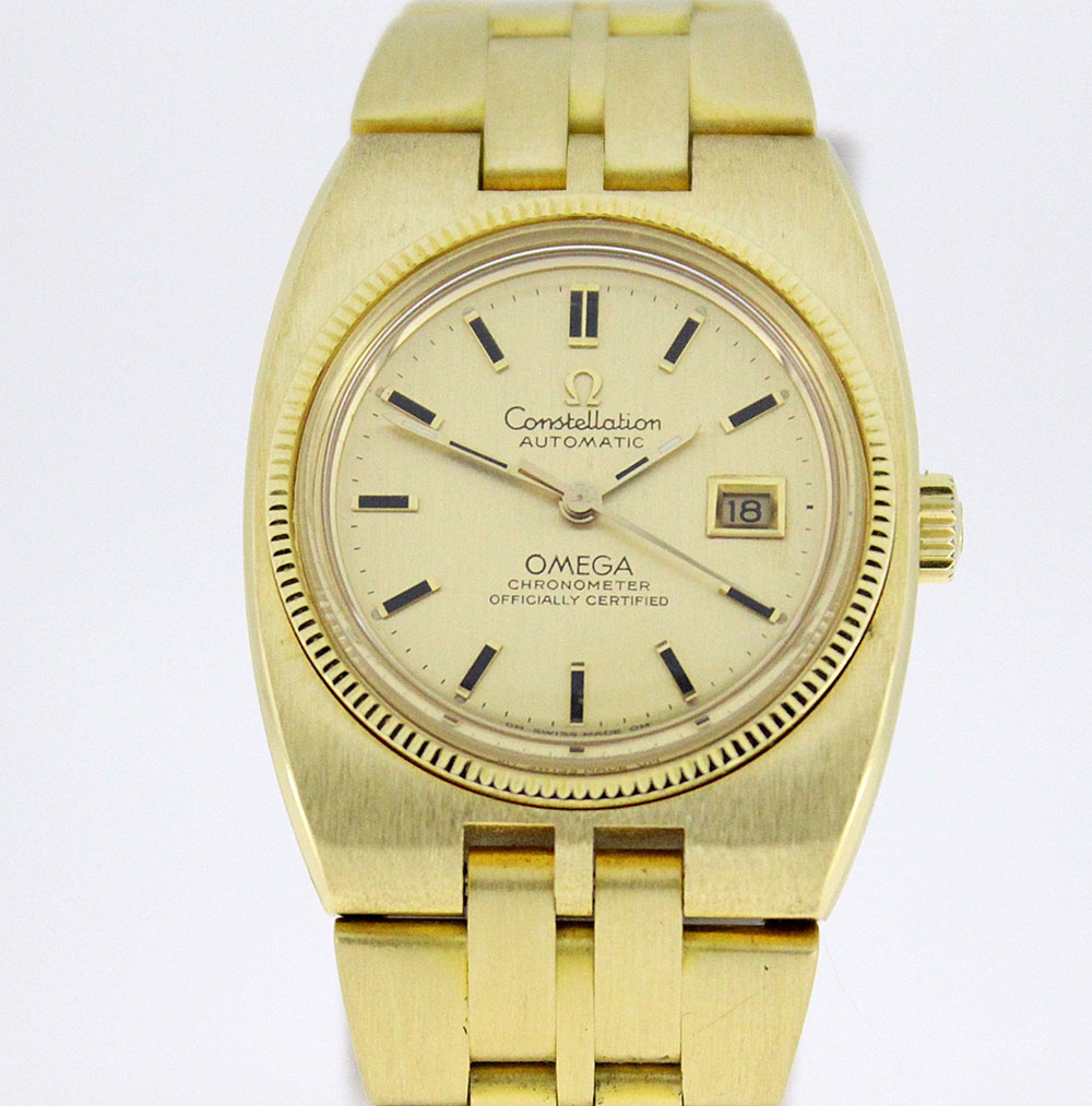 Omega Constellation with integrated bracelet ref. BA 768.0803