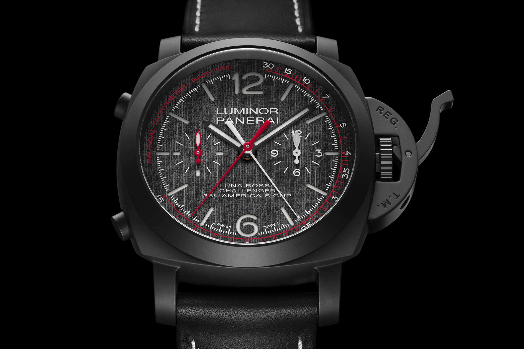 Panerai Luna Rossa Luminor Chrono Flyback 44mm PAM01037