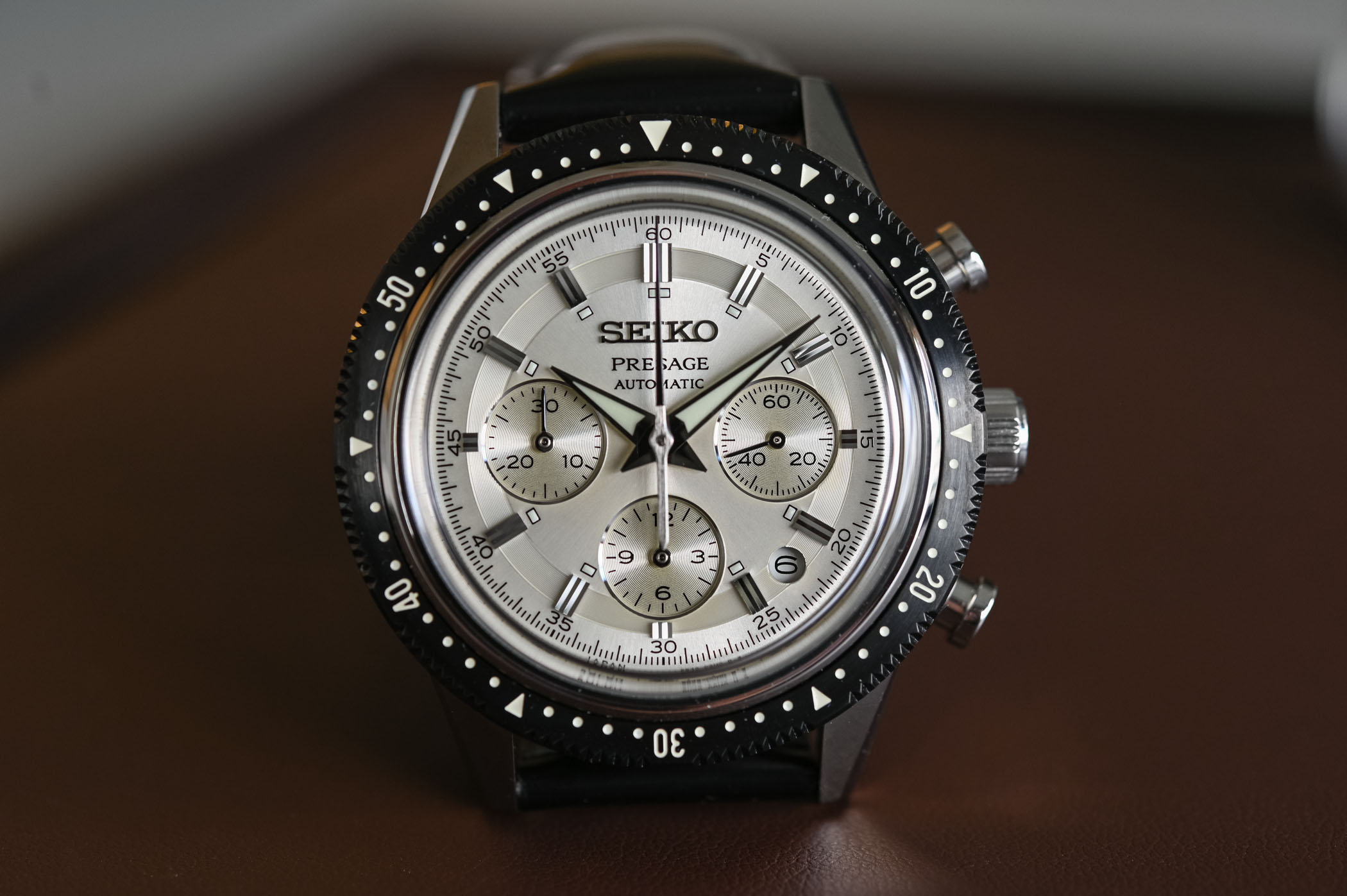 Seiko Presage Chronograph 55th Anniversary Limited Edition SRQ031