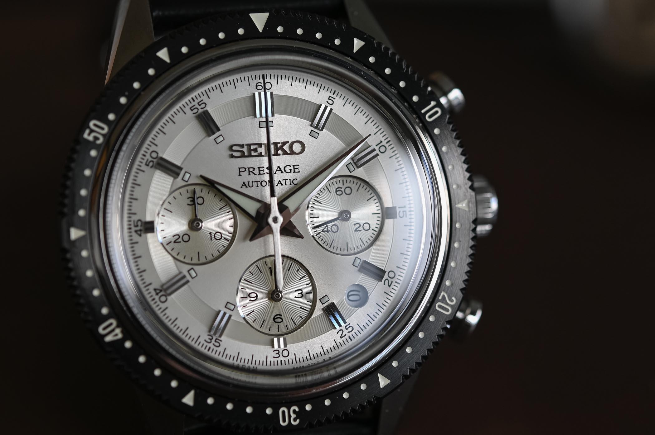 Seiko Presage Chronograph 55th Anniversary Limited Edition SRQ031