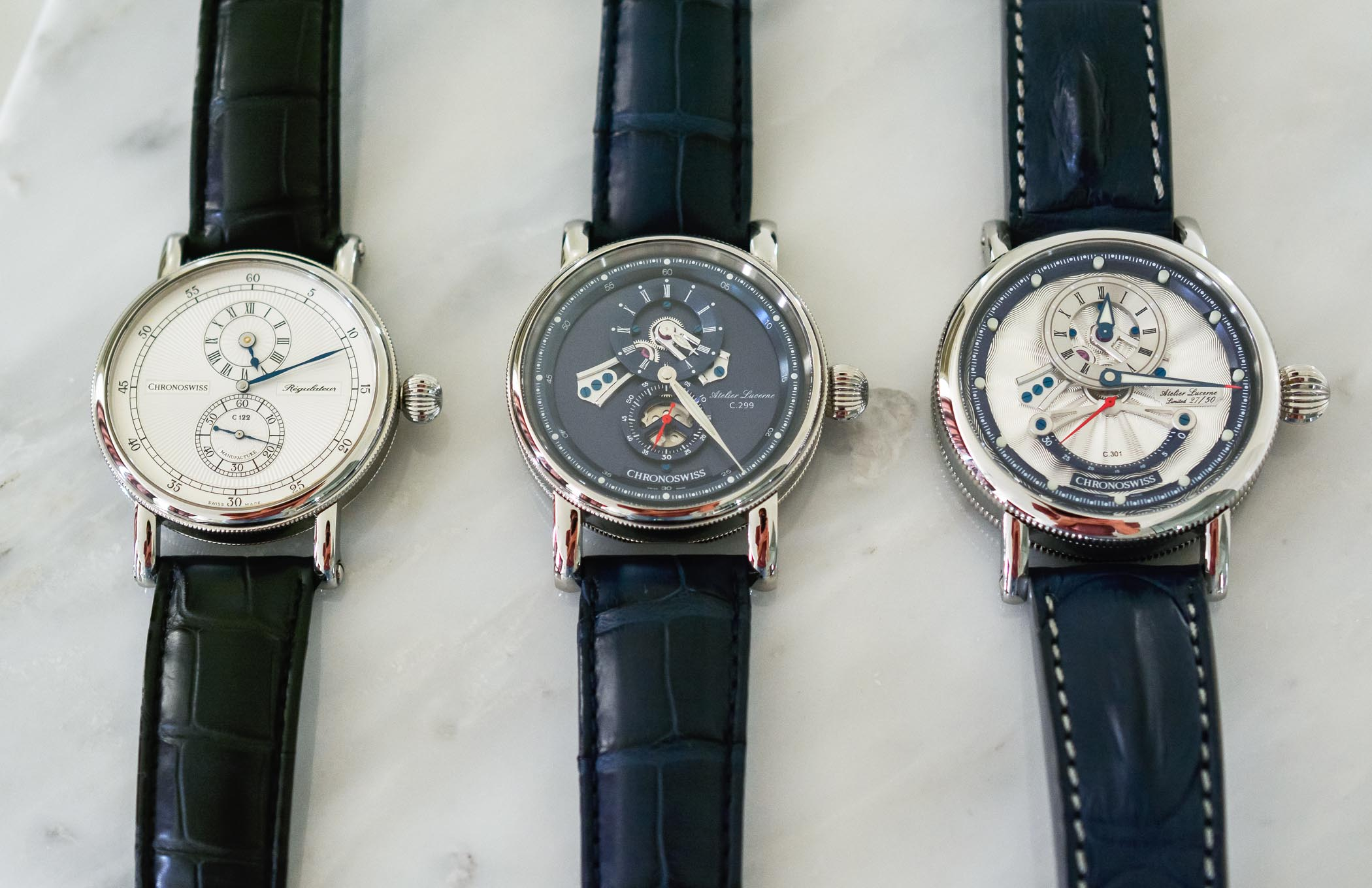 The Evolution of The Regulator Watch by Chronoswiss