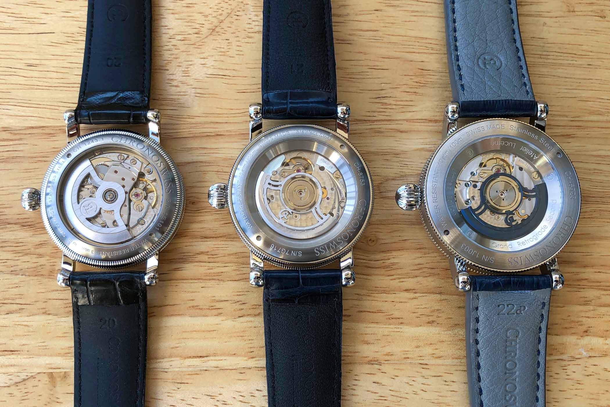 The Evolution of The Regulator Watch by Chronoswiss - 13
