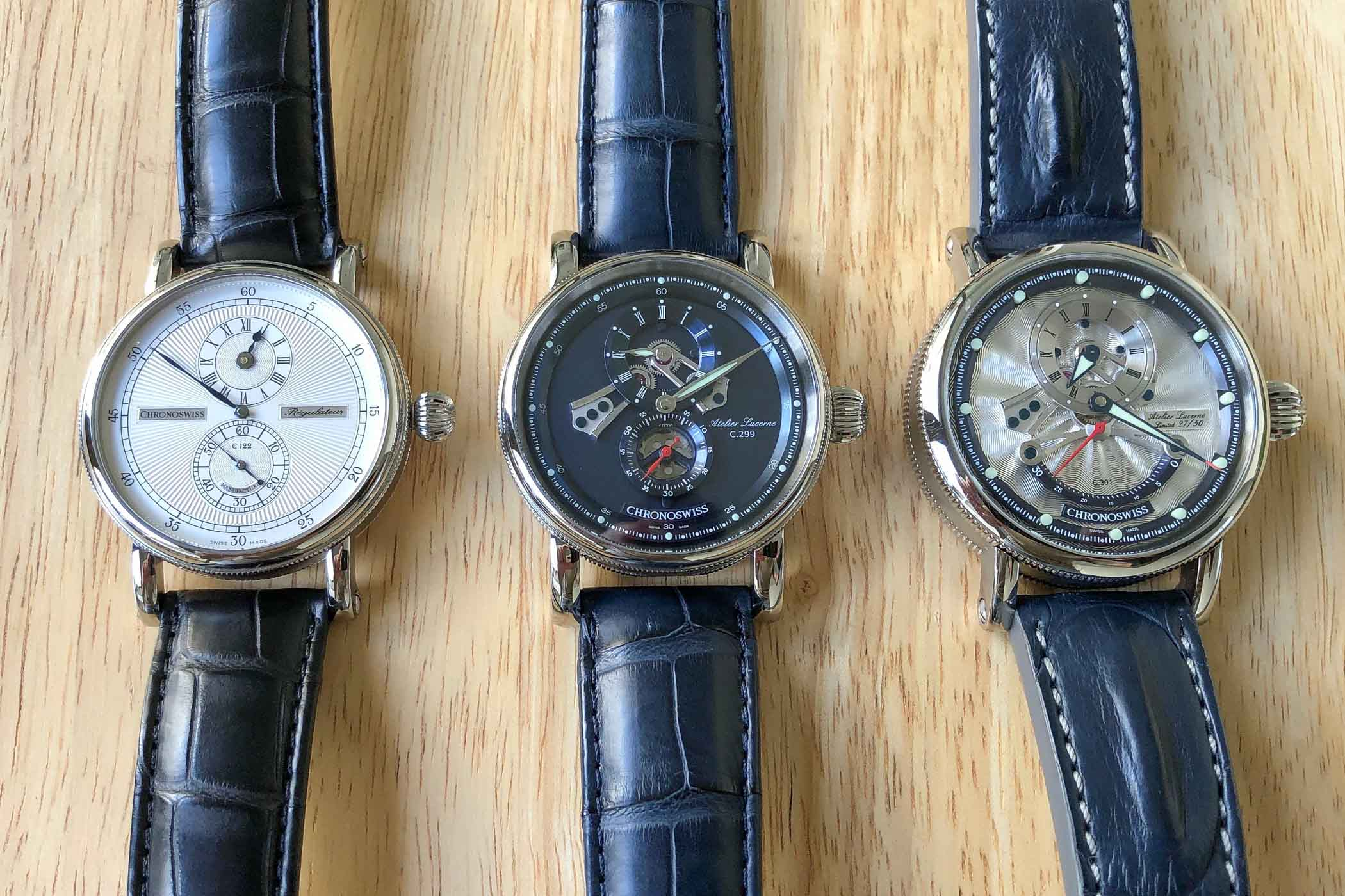 The Evolution of The Regulator Watch by Chronoswiss - 14