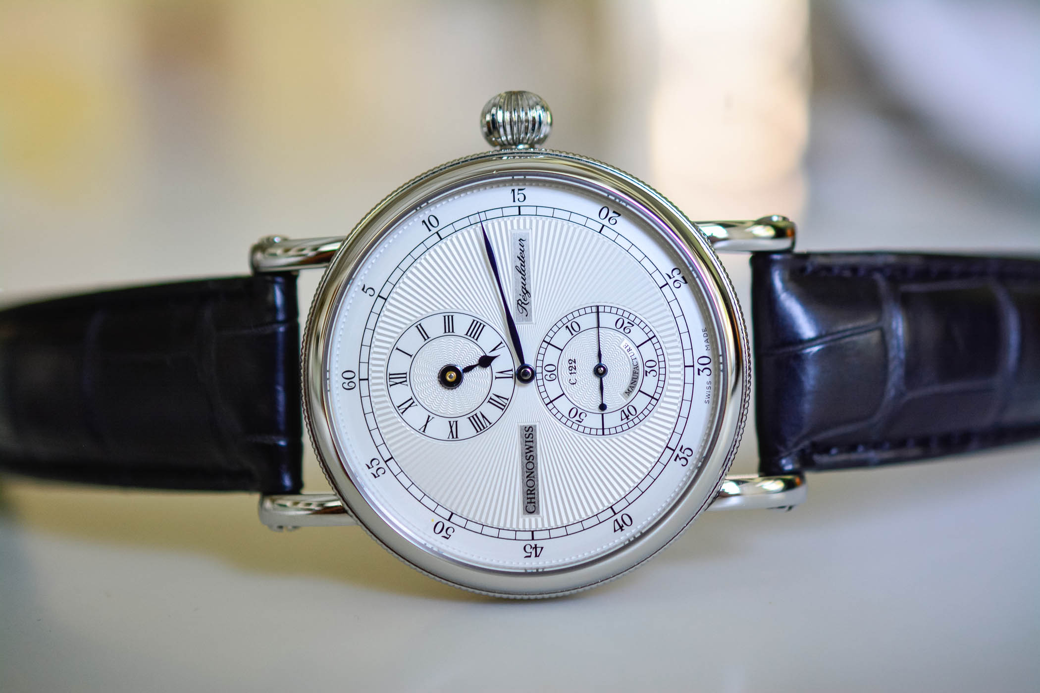 The Evolution of The Regulator Watch by Chronoswiss - 15