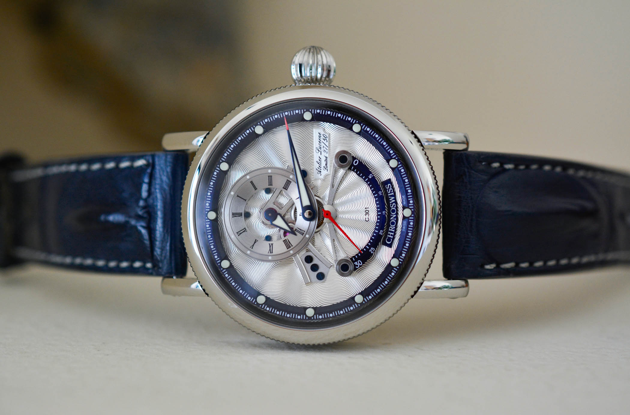 The Evolution of The Regulator Watch by Chronoswiss - 21