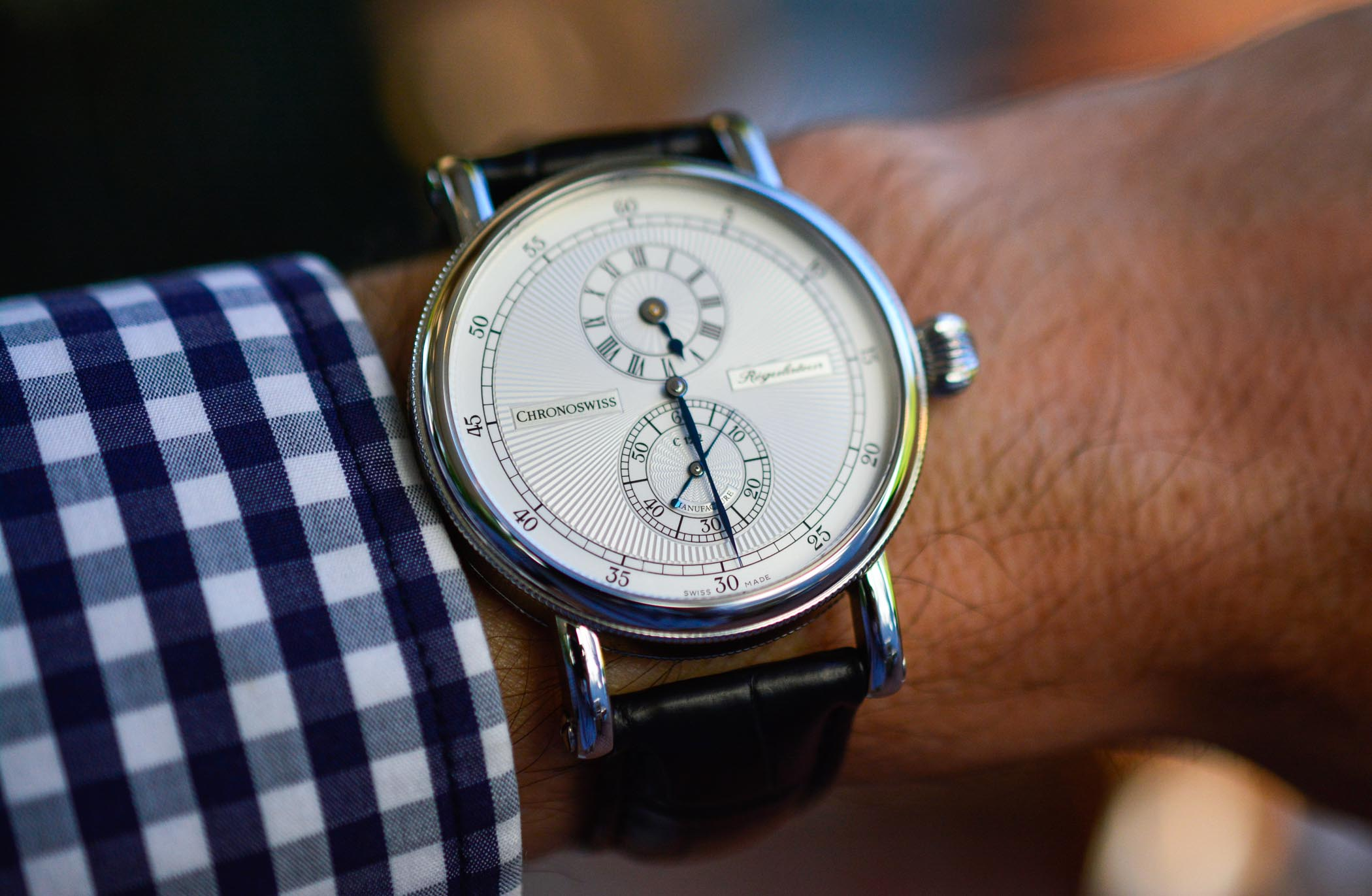 The Evolution of The Regulator Watch by Chronoswiss - 23