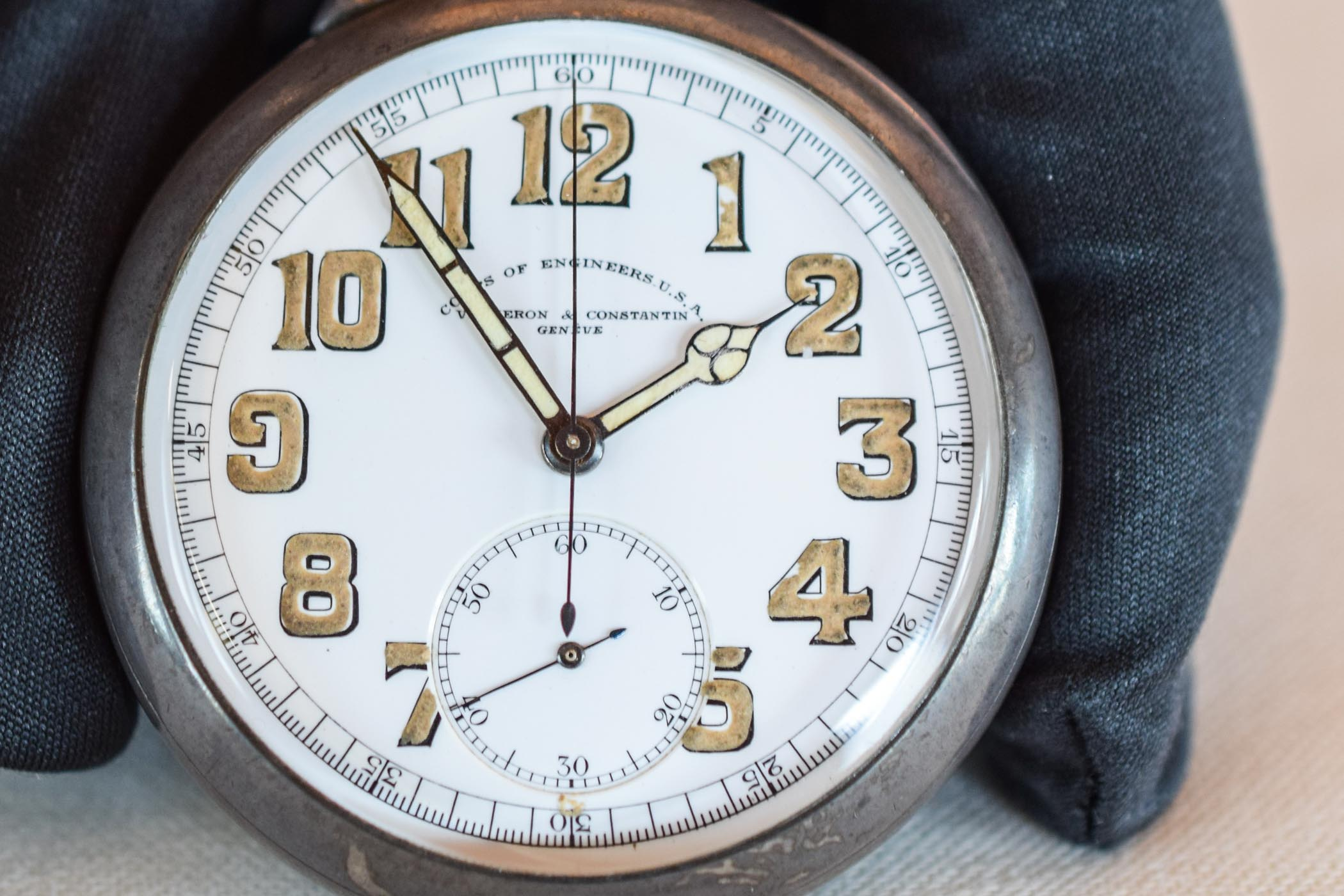 Vacheron Constantin Corps of Engineers pocket chronograph 1917 - 2