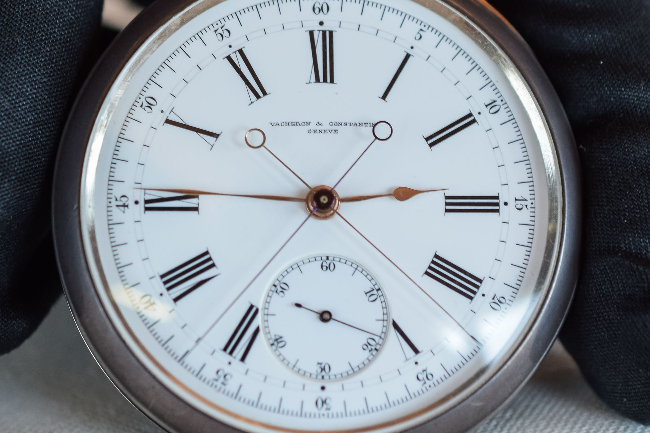 Vacheron Constantin first Split Second chronograph 1889 - 3
