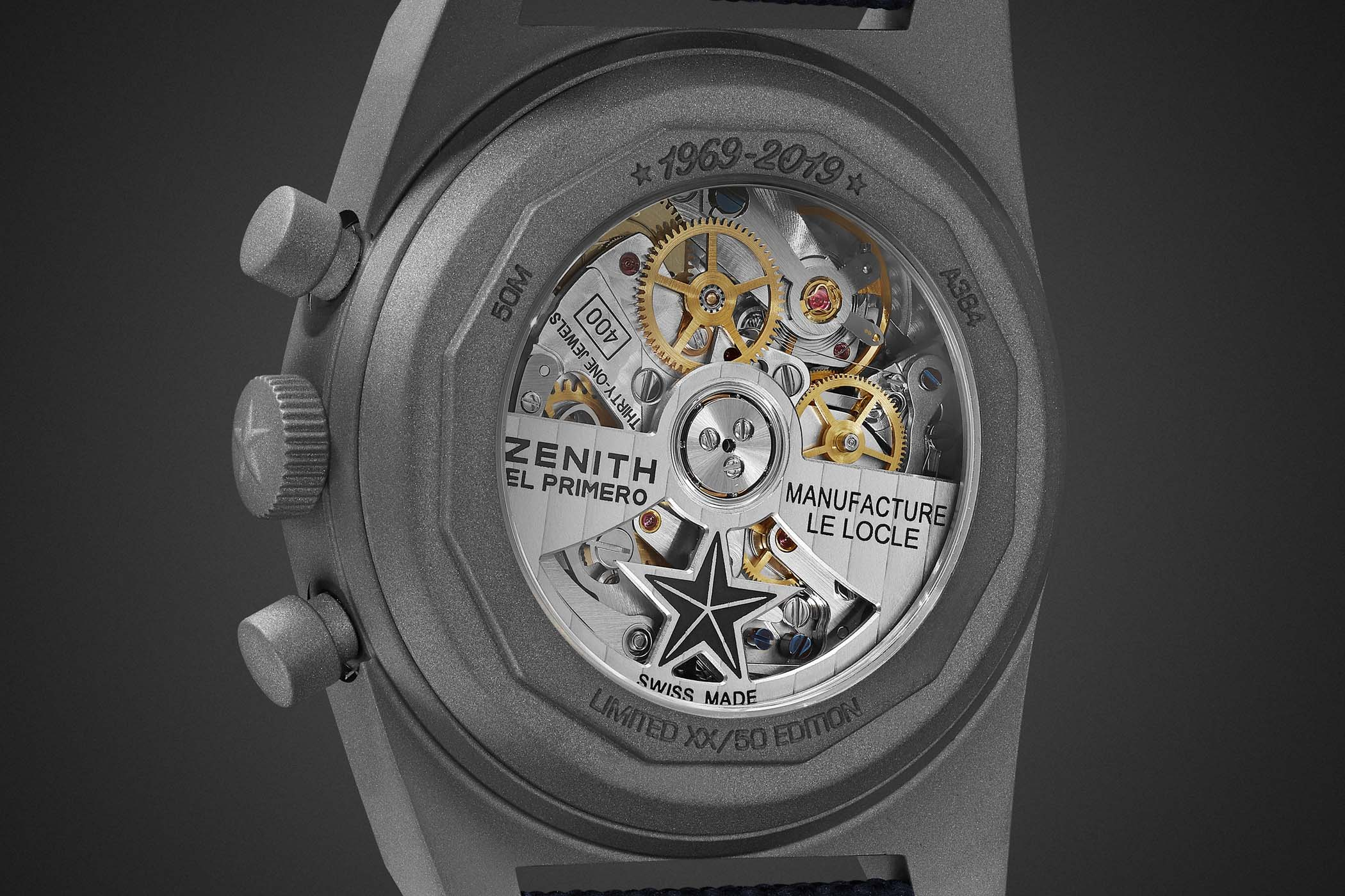 Zenith x Bamford x MR PORTER El Primero Revival A384 Edge of Space Limited Edition