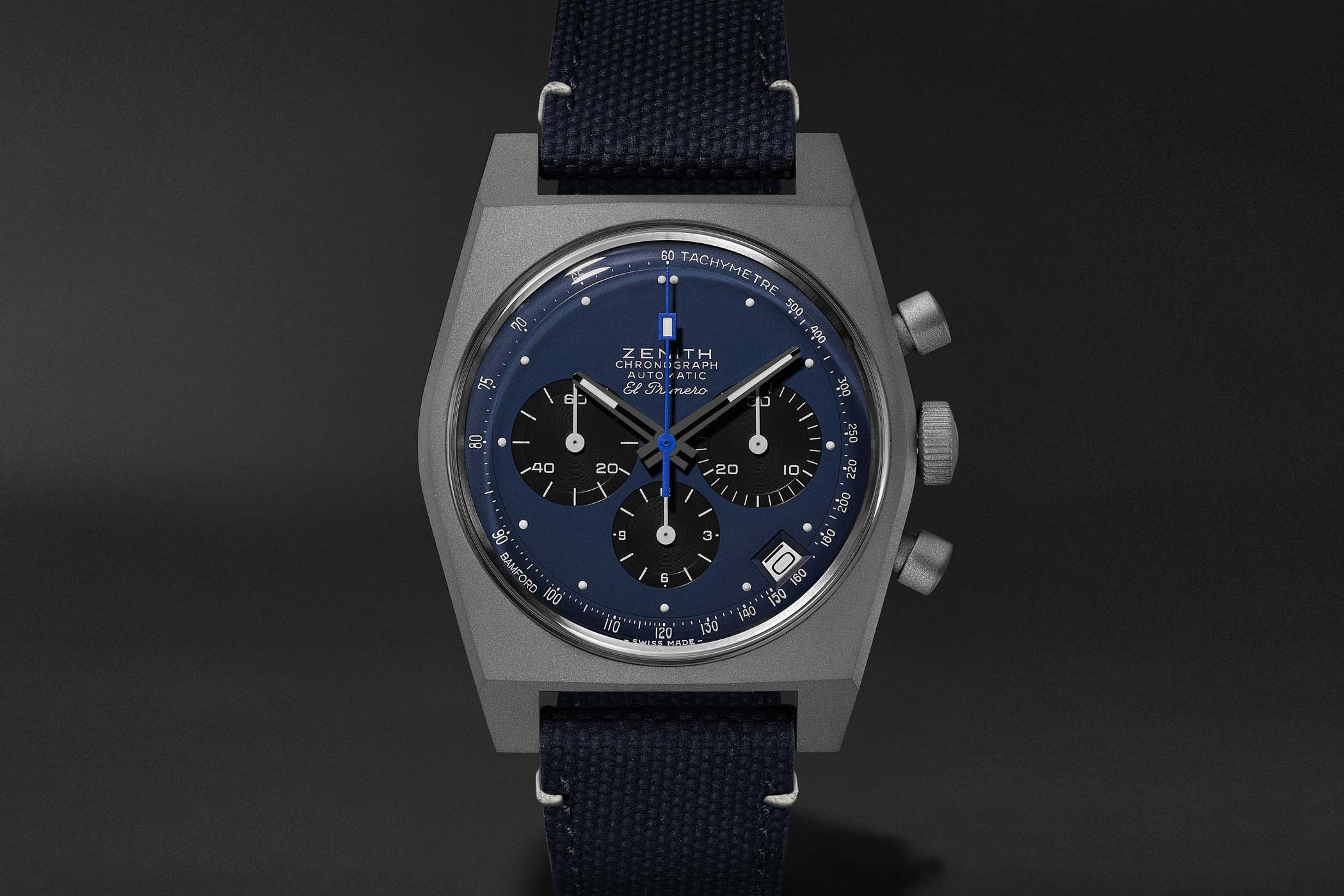 Zenith x Bamford x MR PORTER El Primero Revival A384 Edge of Space Limited Edition - 12