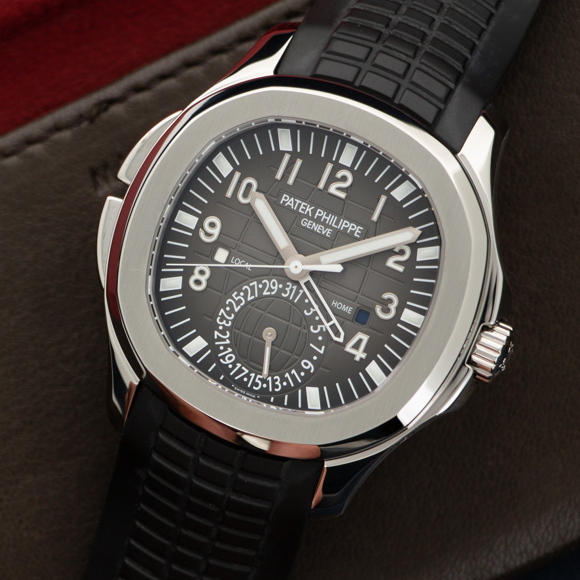 Patek Philippe Aquanaut Travel Time 5164A Steel