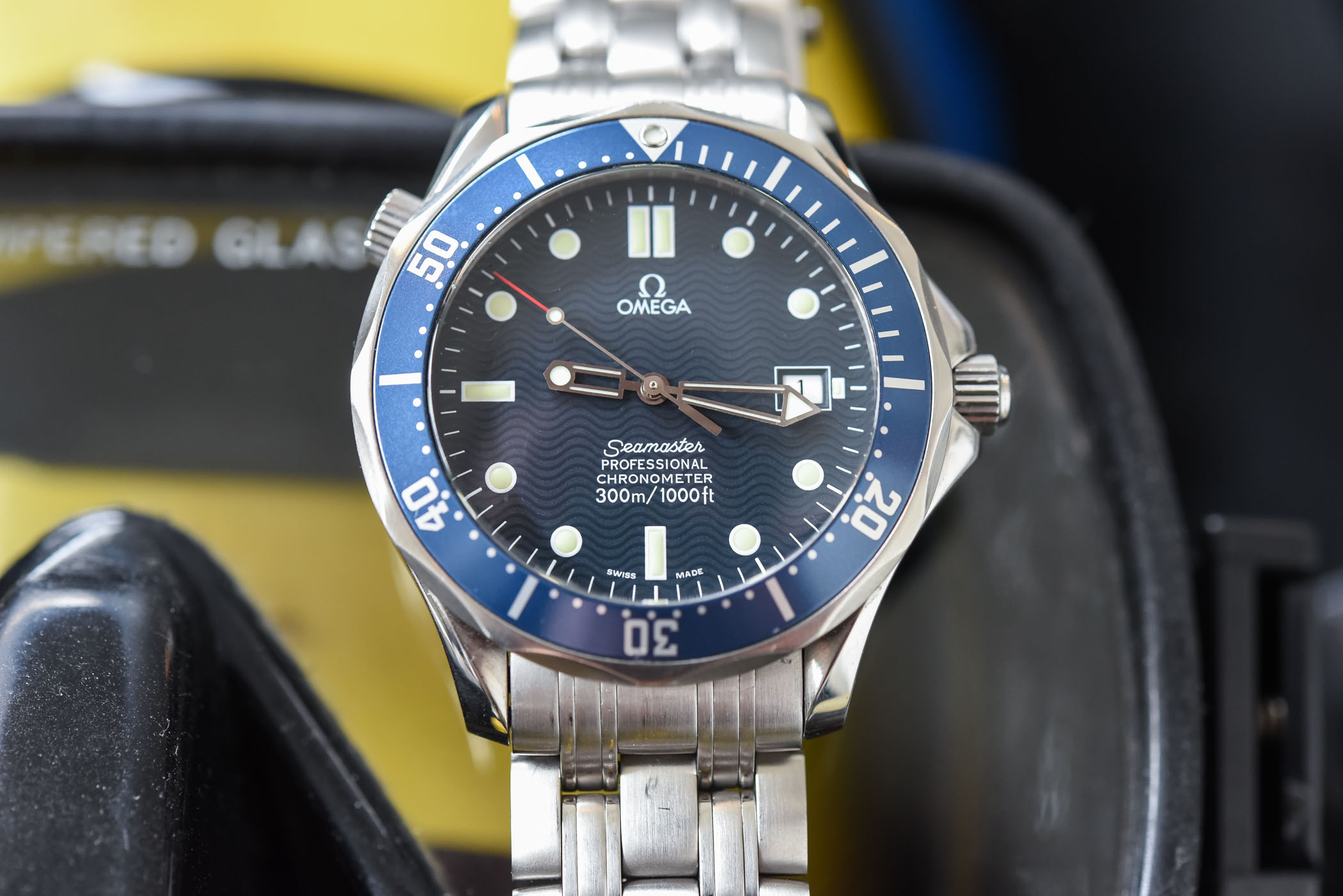Omega Seamaster Diver 300m Master Chronometer White Dial Review Price