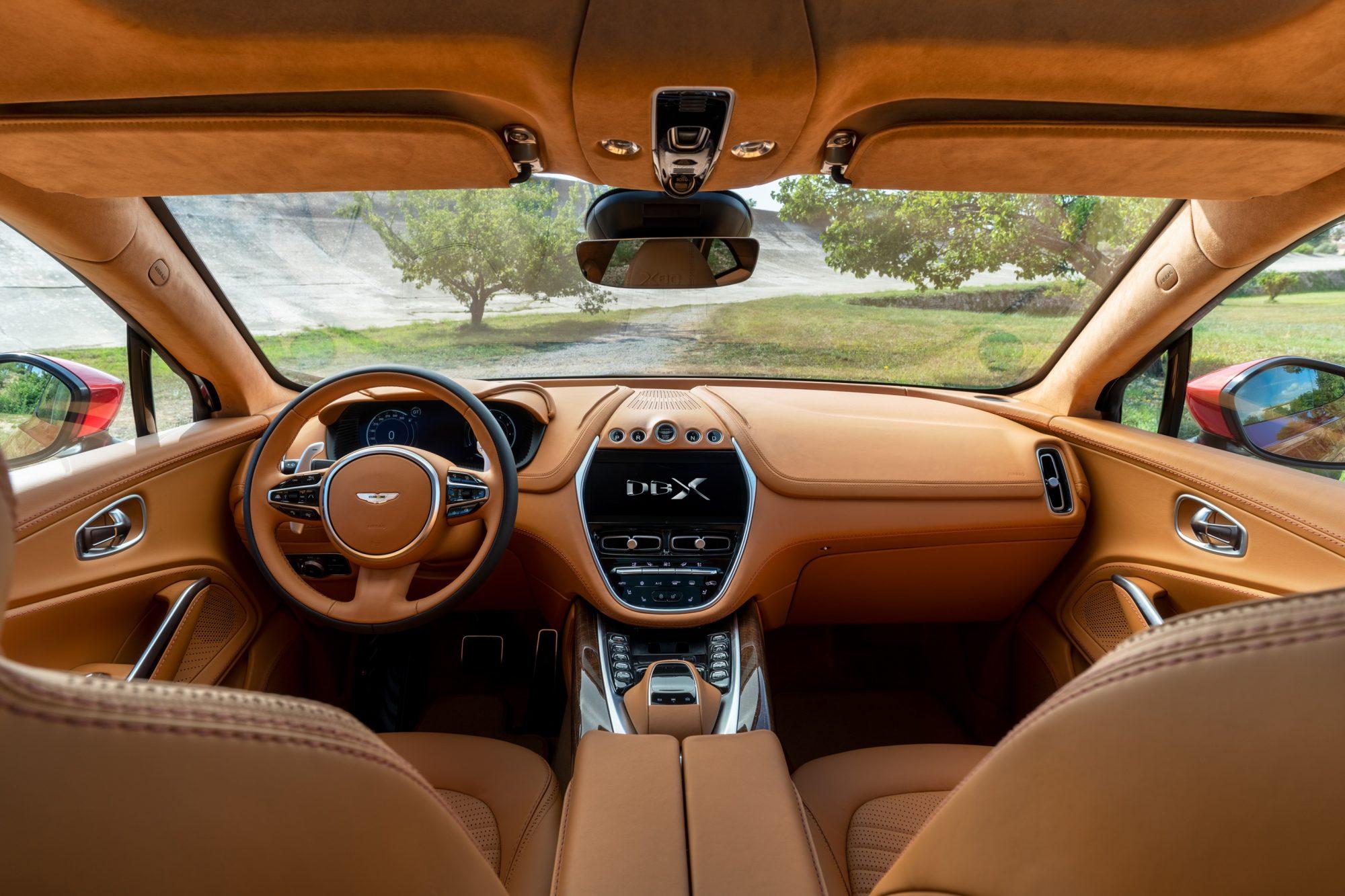 Aston Martin DBX suv - petrolhead corner - 5