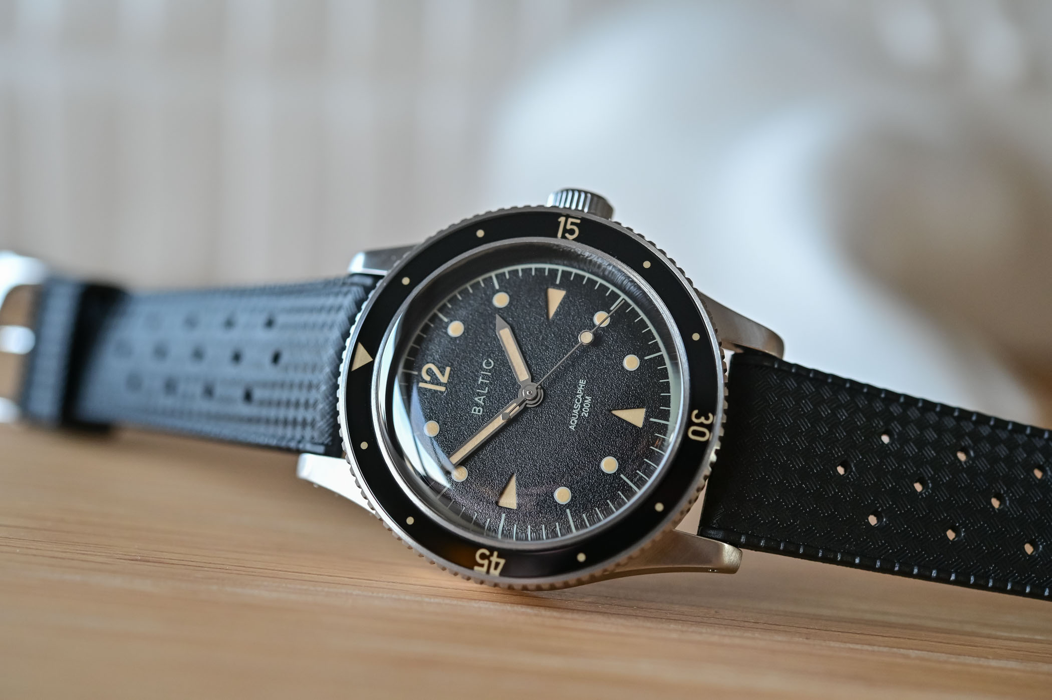 Baltic Aquascaphe Dive Watch - Review